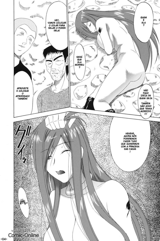 Fairy Tail Pornô – Fada escrava sexual