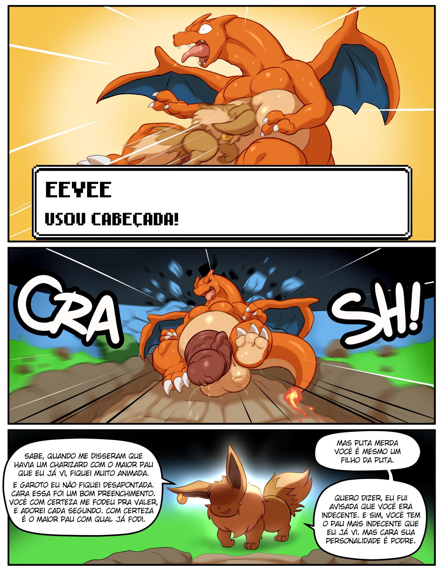 Pokémon Pornô – Charizard fodendo