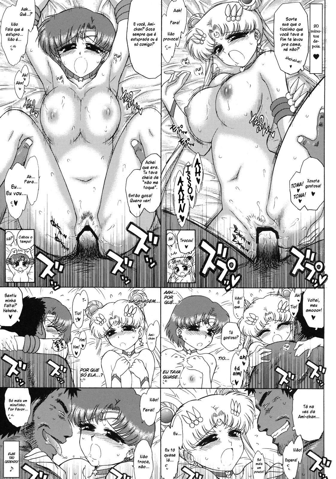 Sailor Moon Hentai – No esconderijo dos Youmas