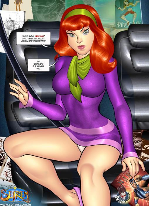 Scooby Doo Pornô – O fantasma encoxador