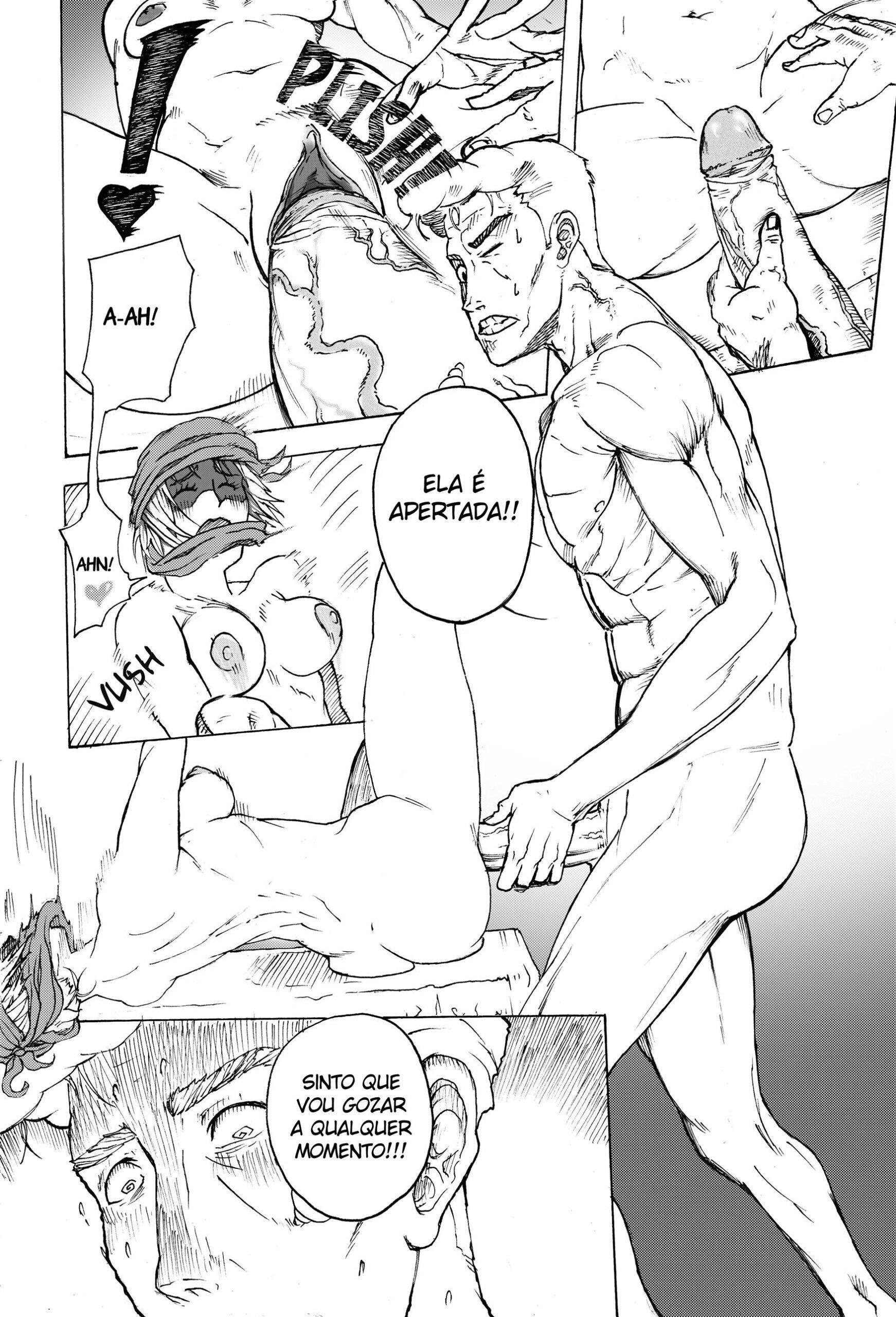 Yu Yu Hakusho Hentai – Kuwabara vs Genkai