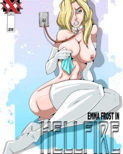 Heróis Pornô XXX – Emma Frost uma heroína escrava