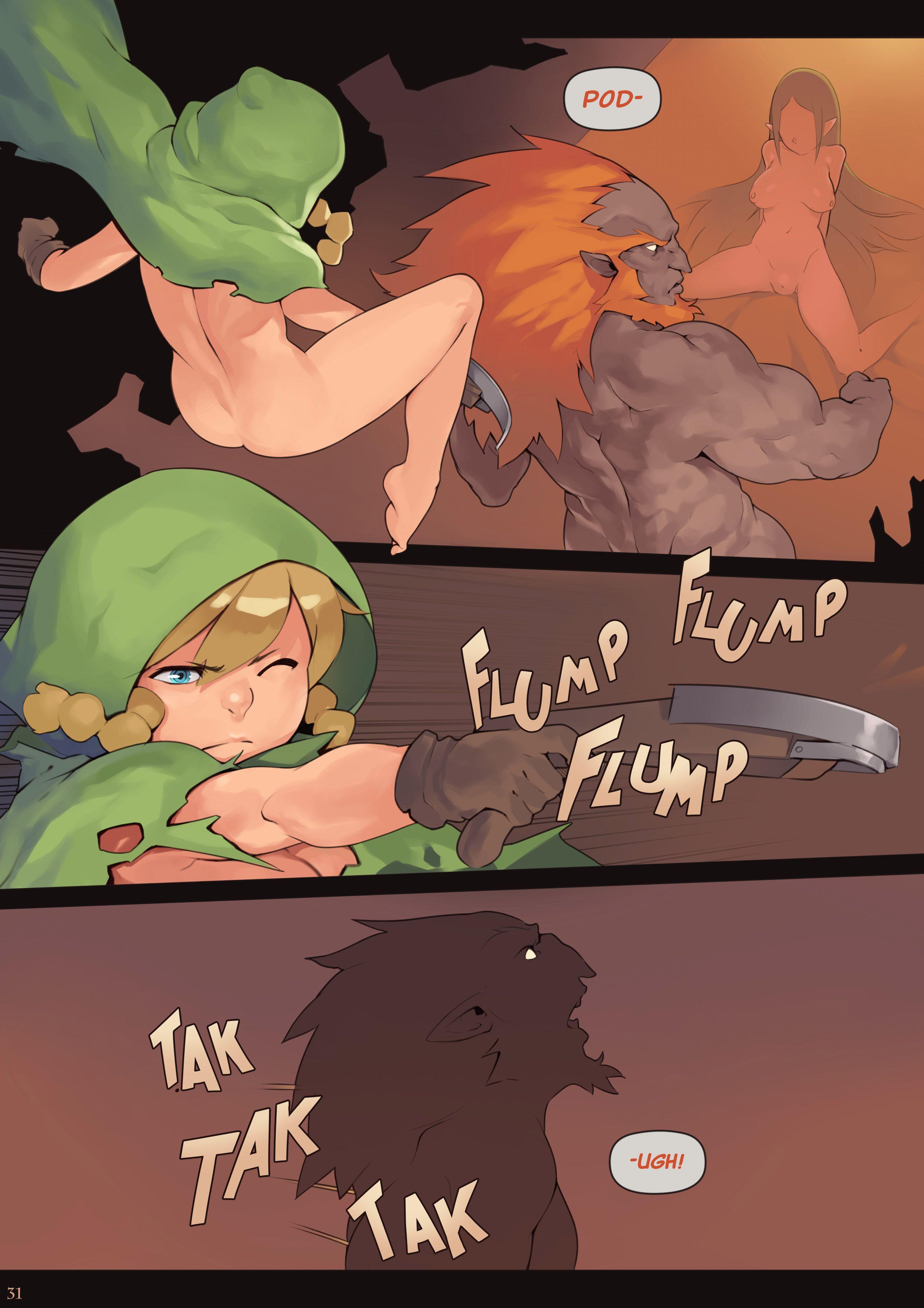 Link o herói do tempo, salve Zelda!