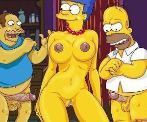 Marge Simpson transa com Jeff