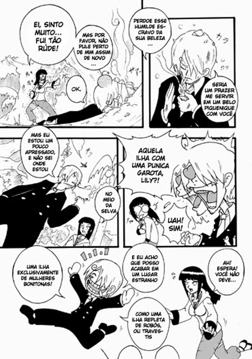 One Piece – Piratas vs Ninjas