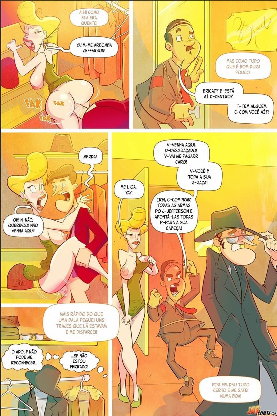 Desenhos pornô – O velho rabugento 02