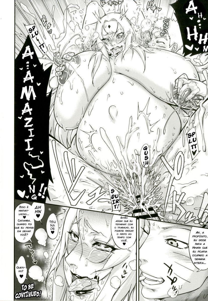 Naruto comendo vovó Tsunade bêbada devassa