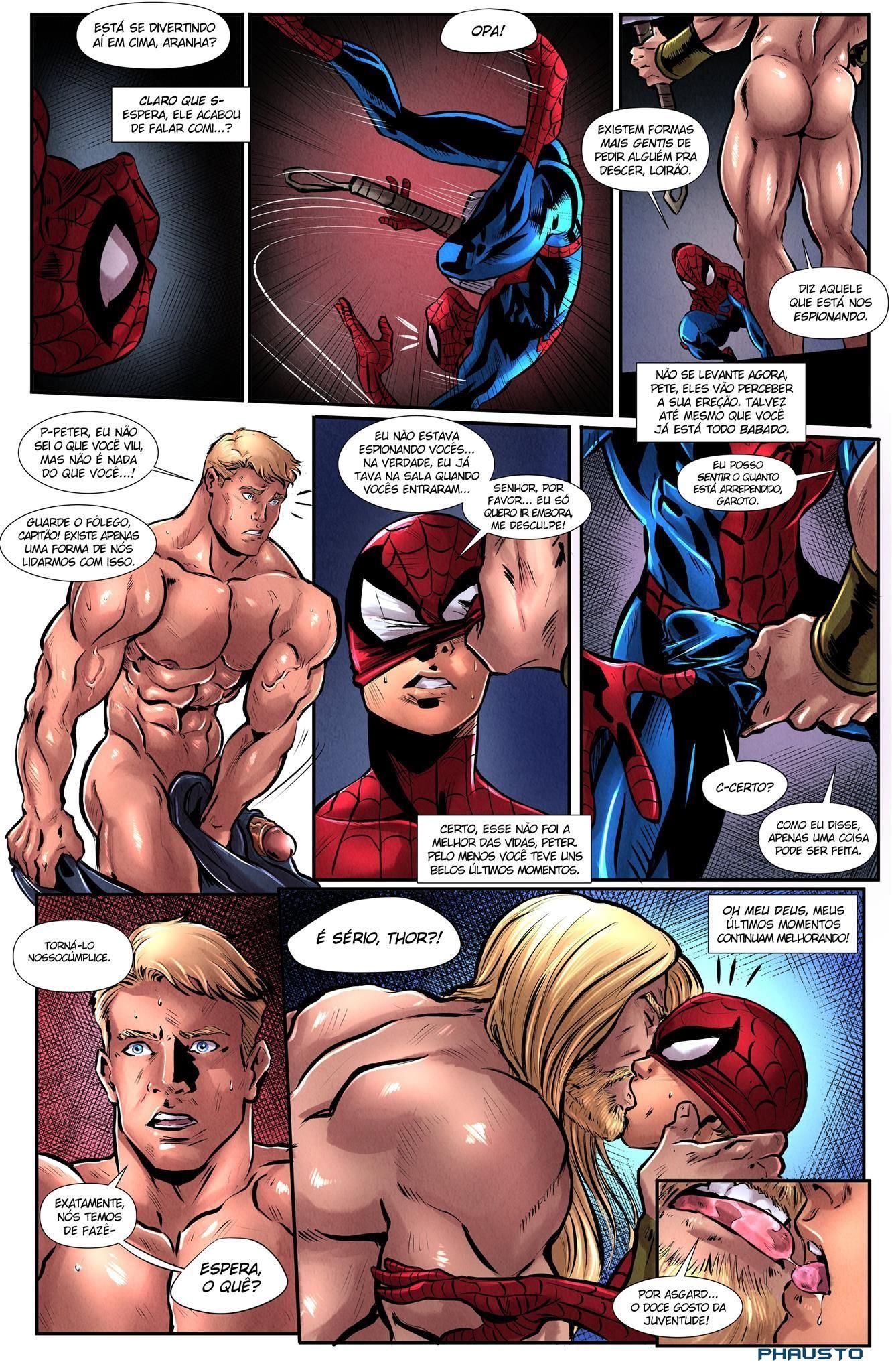 Os Vingadores Cartoon Gay