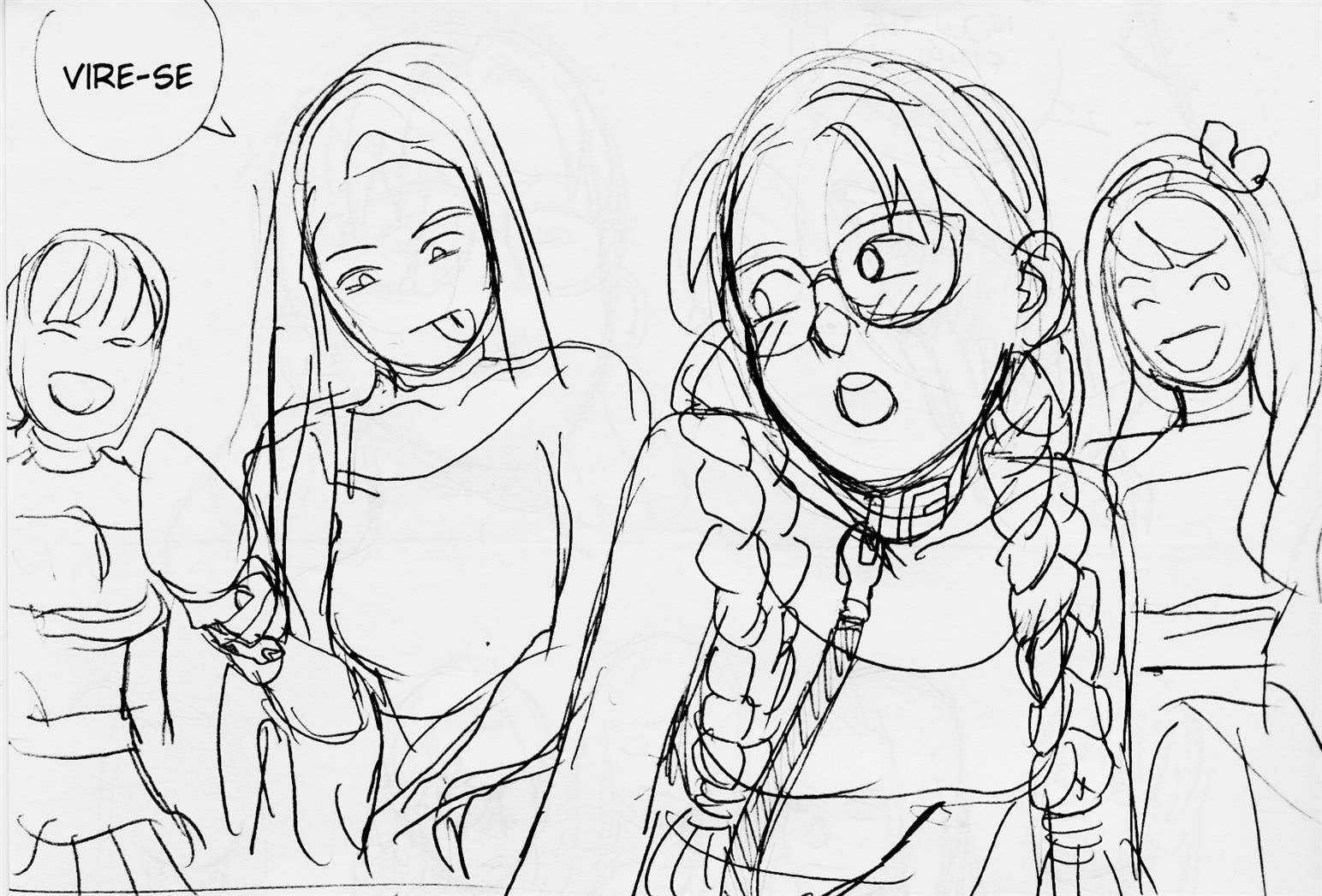 Uma nerd virgem que quer muito transar
