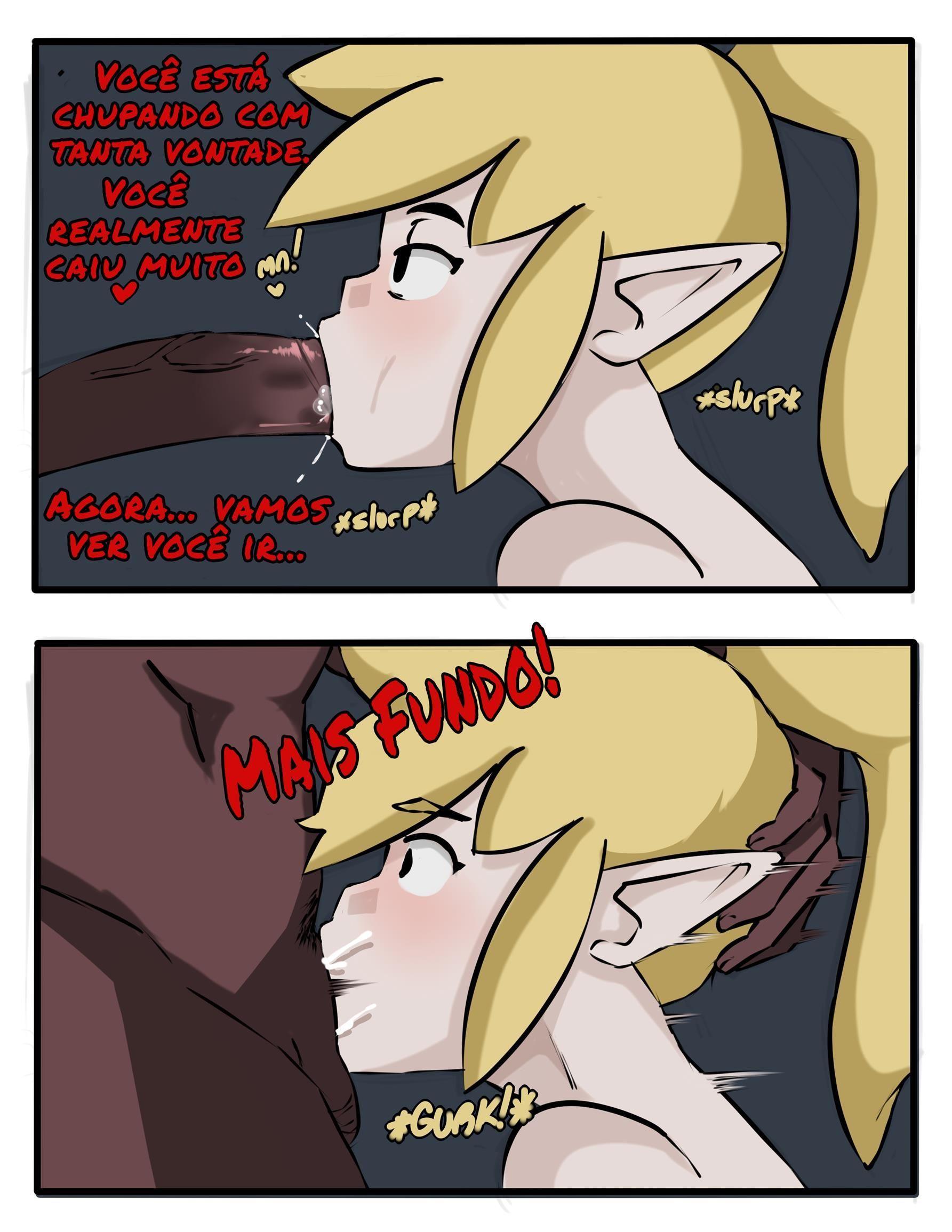 Link vira uma vadiazinha