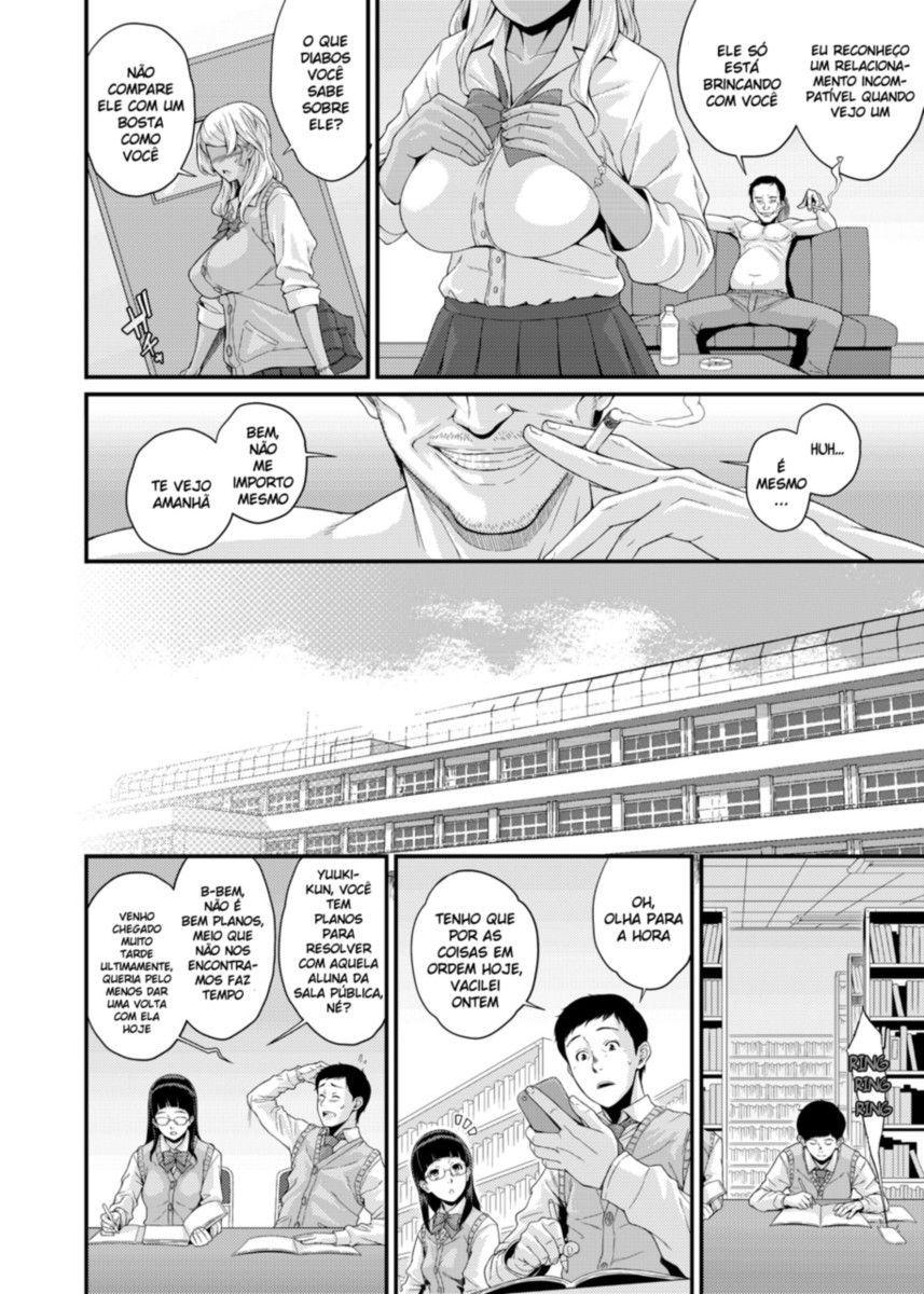 O zelador chantagista da escola