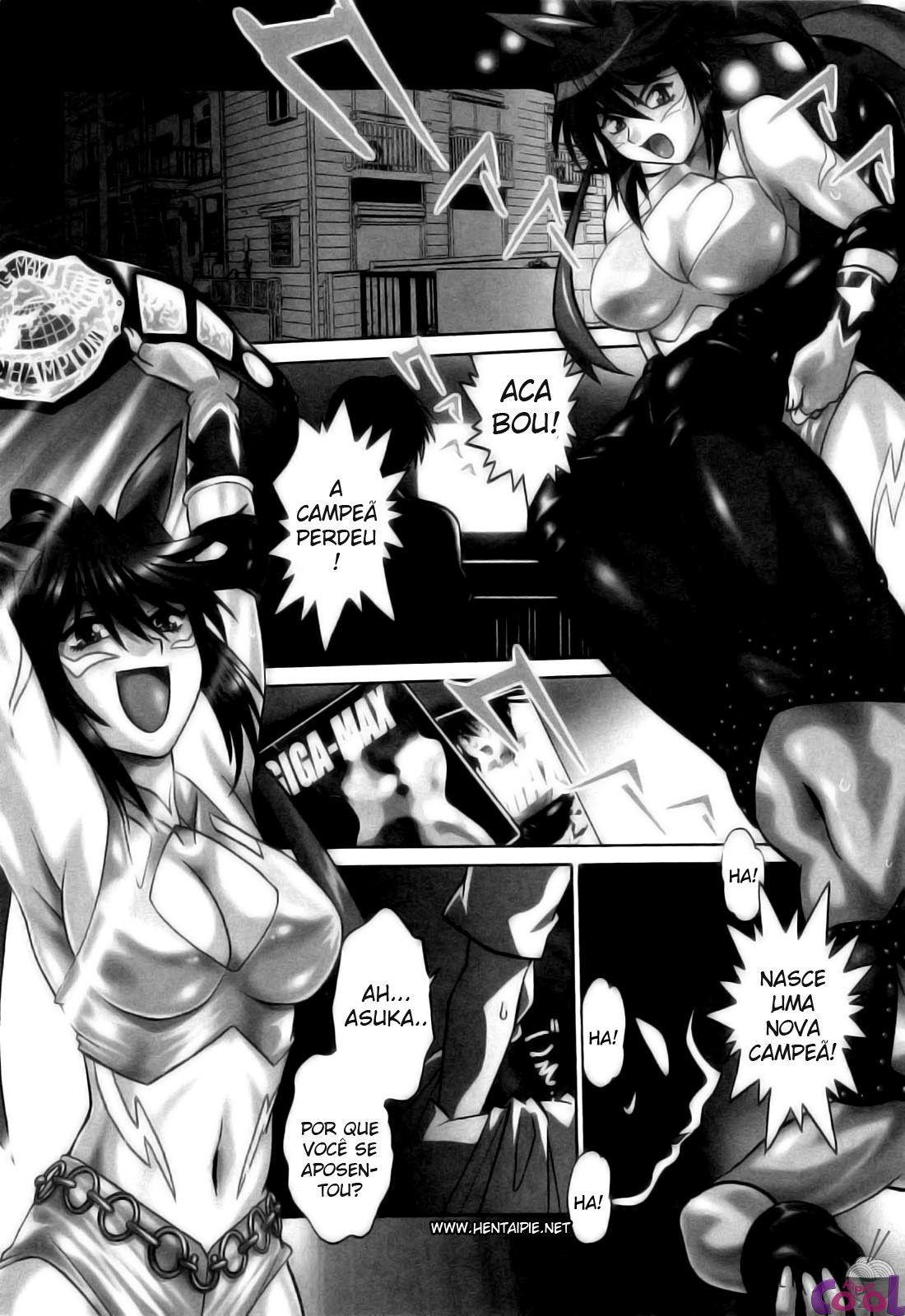 Ring x Mama 01 – Apaixonado por lutadoras peitudas