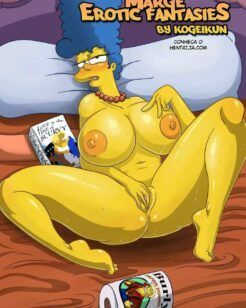 Fantasias eróticas de Marge Simpsons