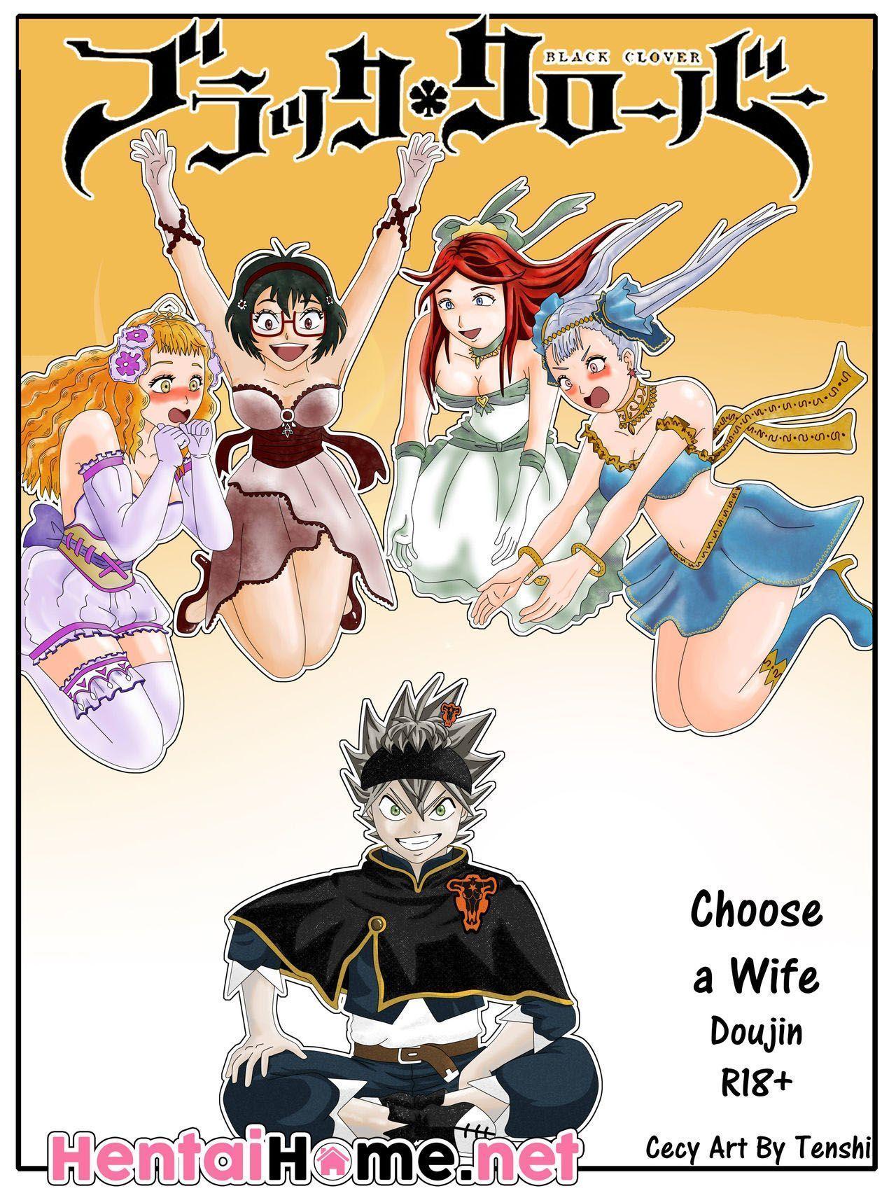 Black Clover Pornô: Escolha uma esposa