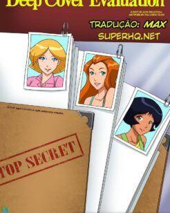 Três espiãs demais desenhos de sexo