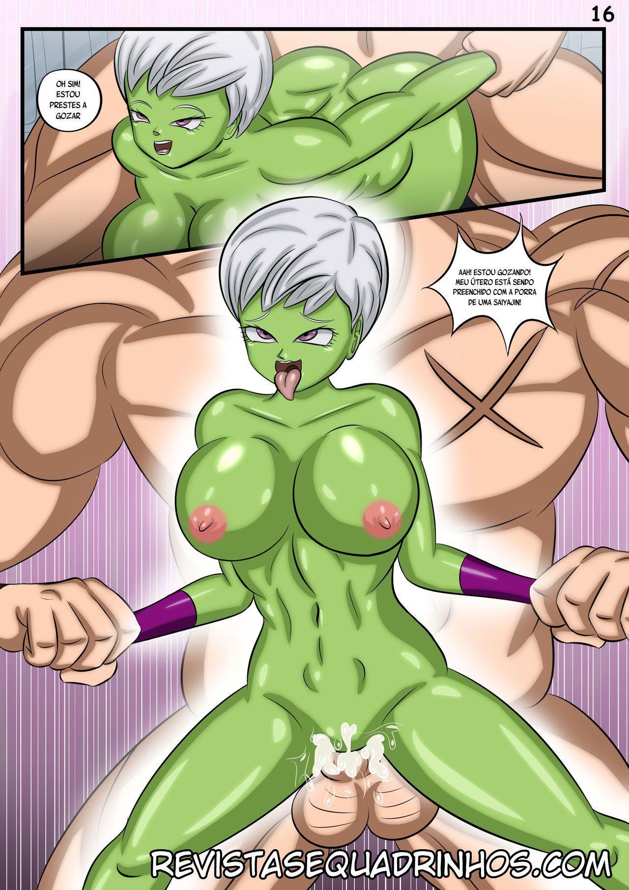Um ménage com à Bulma
