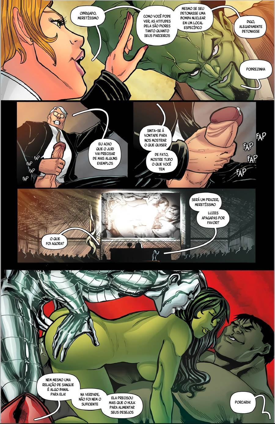 She-Hulk radiação sexual