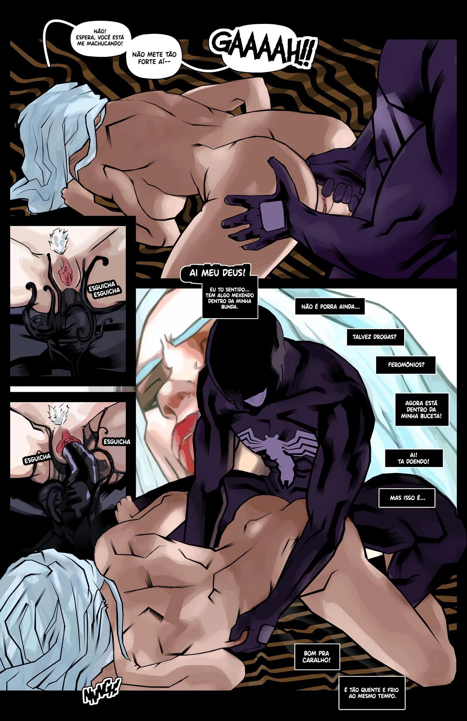 A escuridão do Homem Aranha