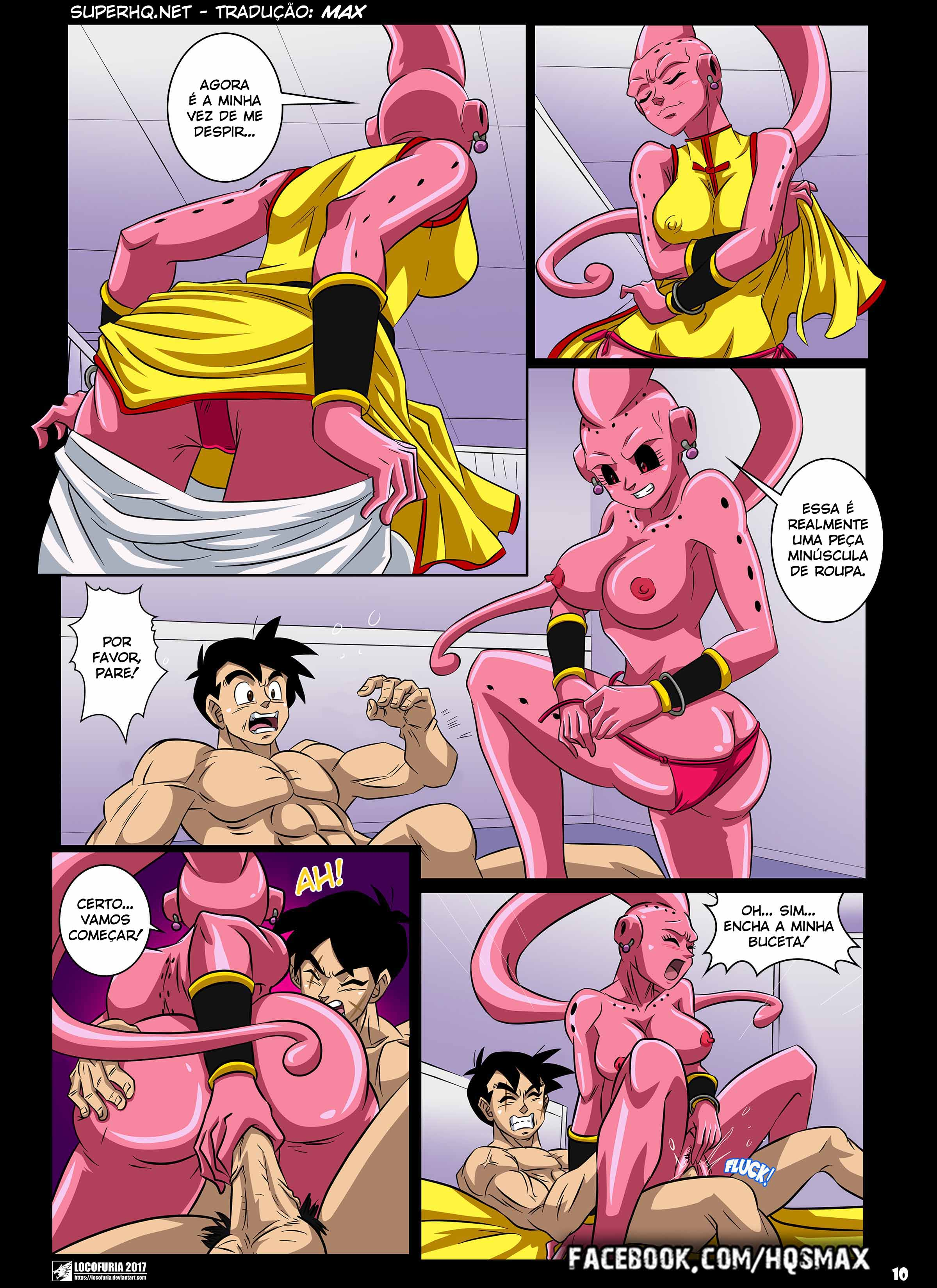 Dragon Ball Hentai – Os corpos de Buu 02