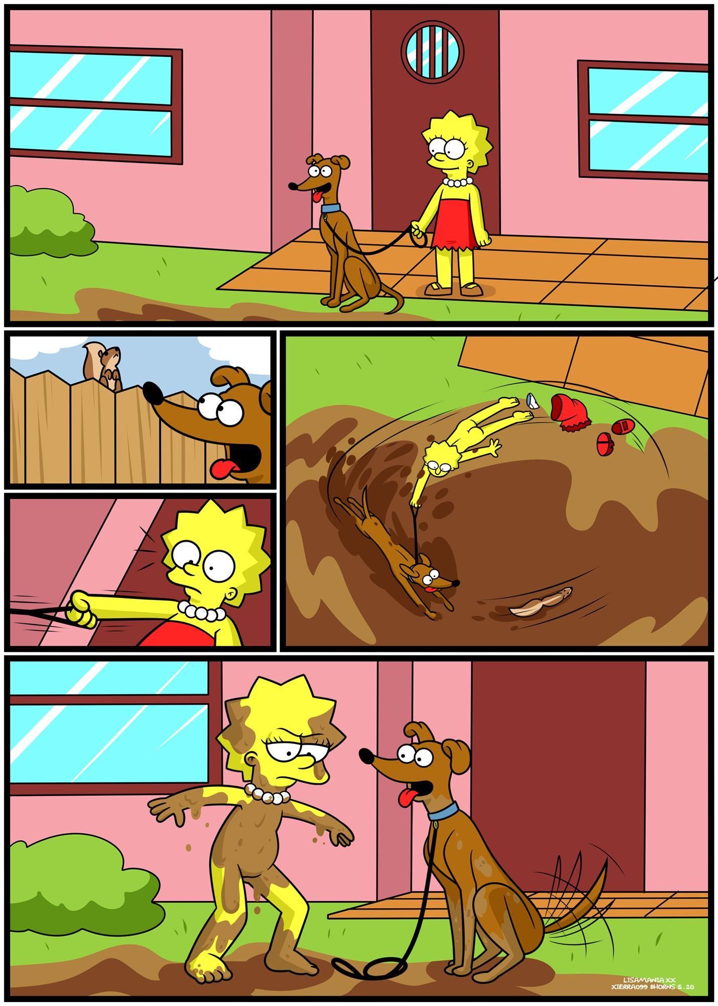 Lisa em sexo animal