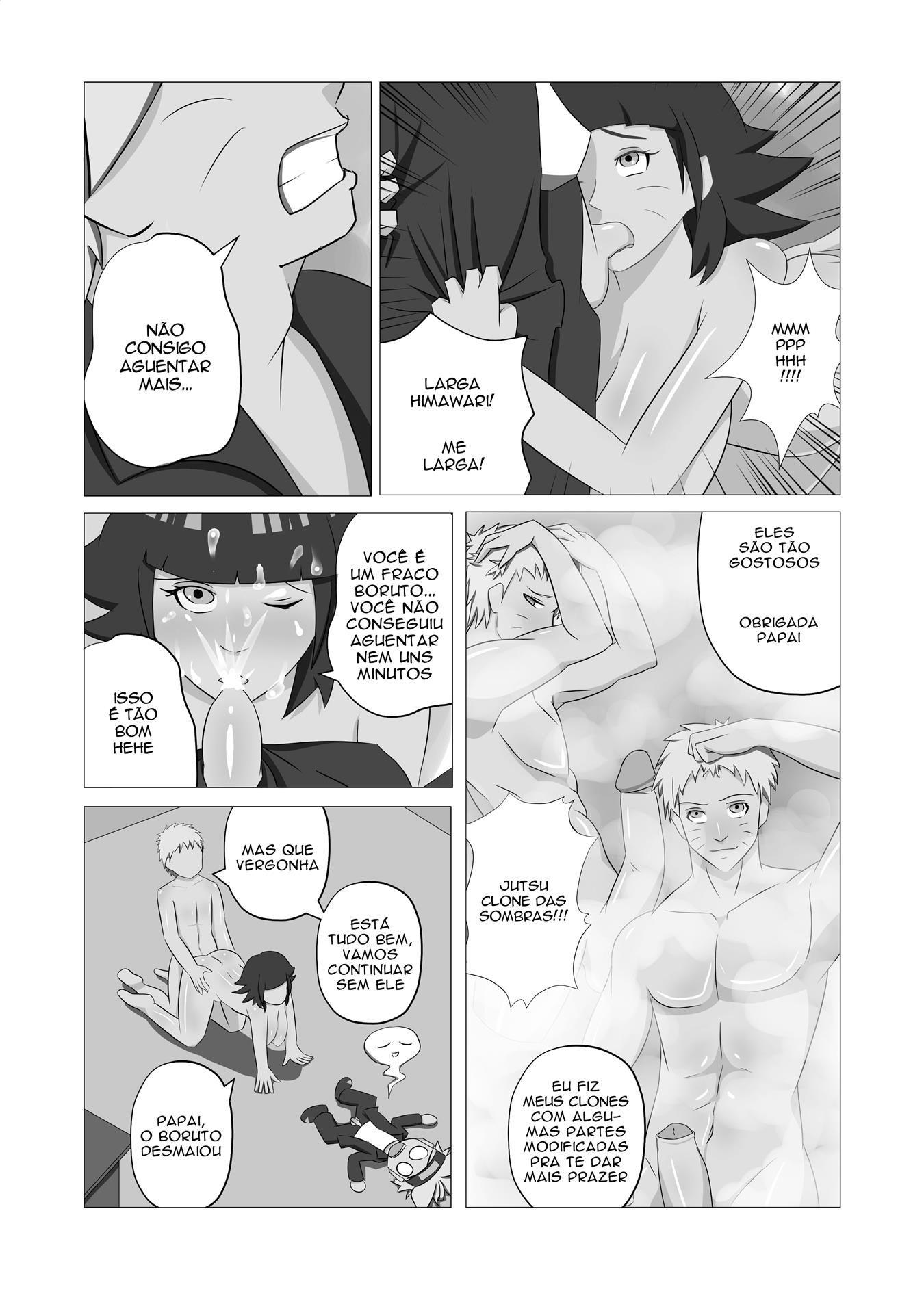 Naruto Incesto: O segredo sujo do papai