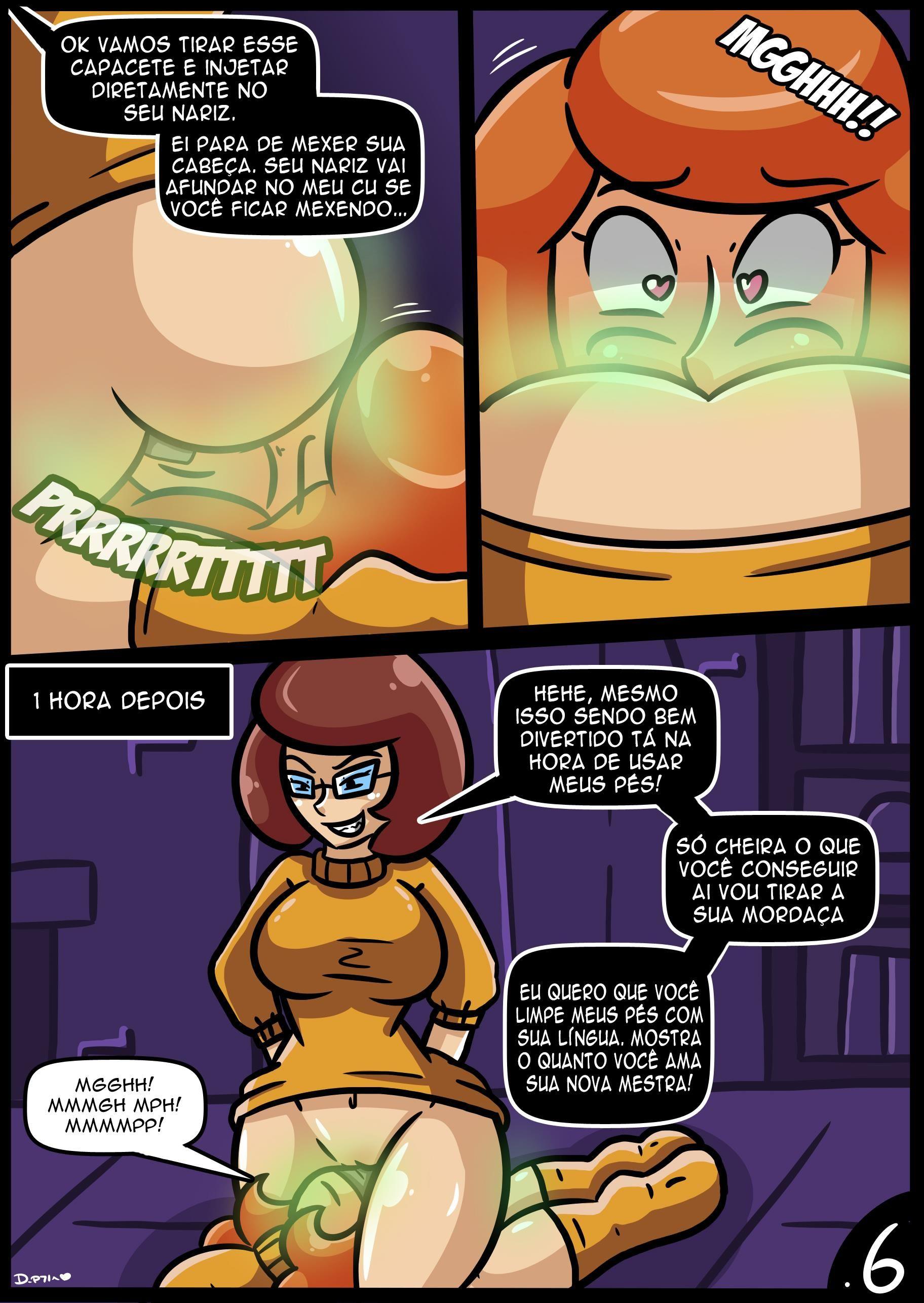 Scooby Doo HQ Pornô: Velmaficação