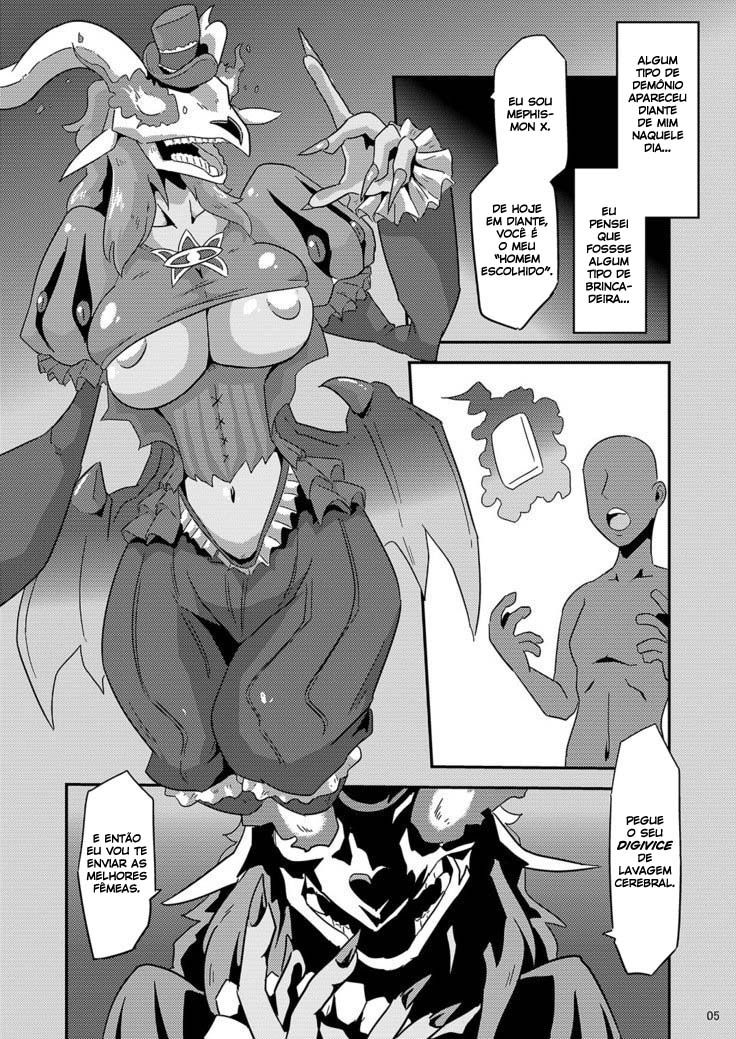 Digimon Adventure Hentai – A lavagem cerebral