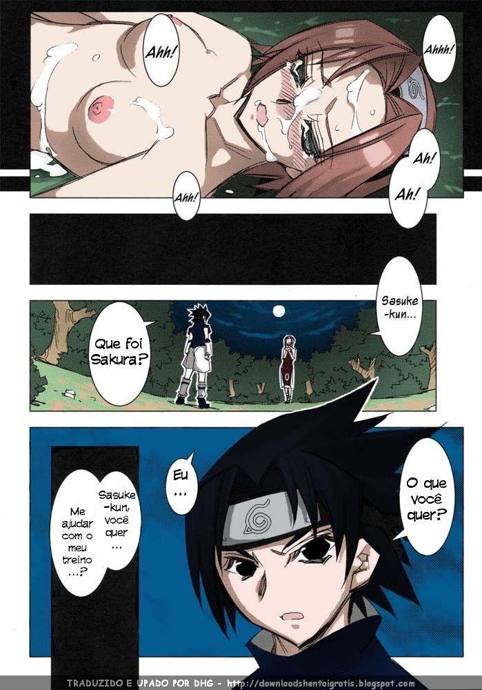 O jutsu de sexo da Sakura