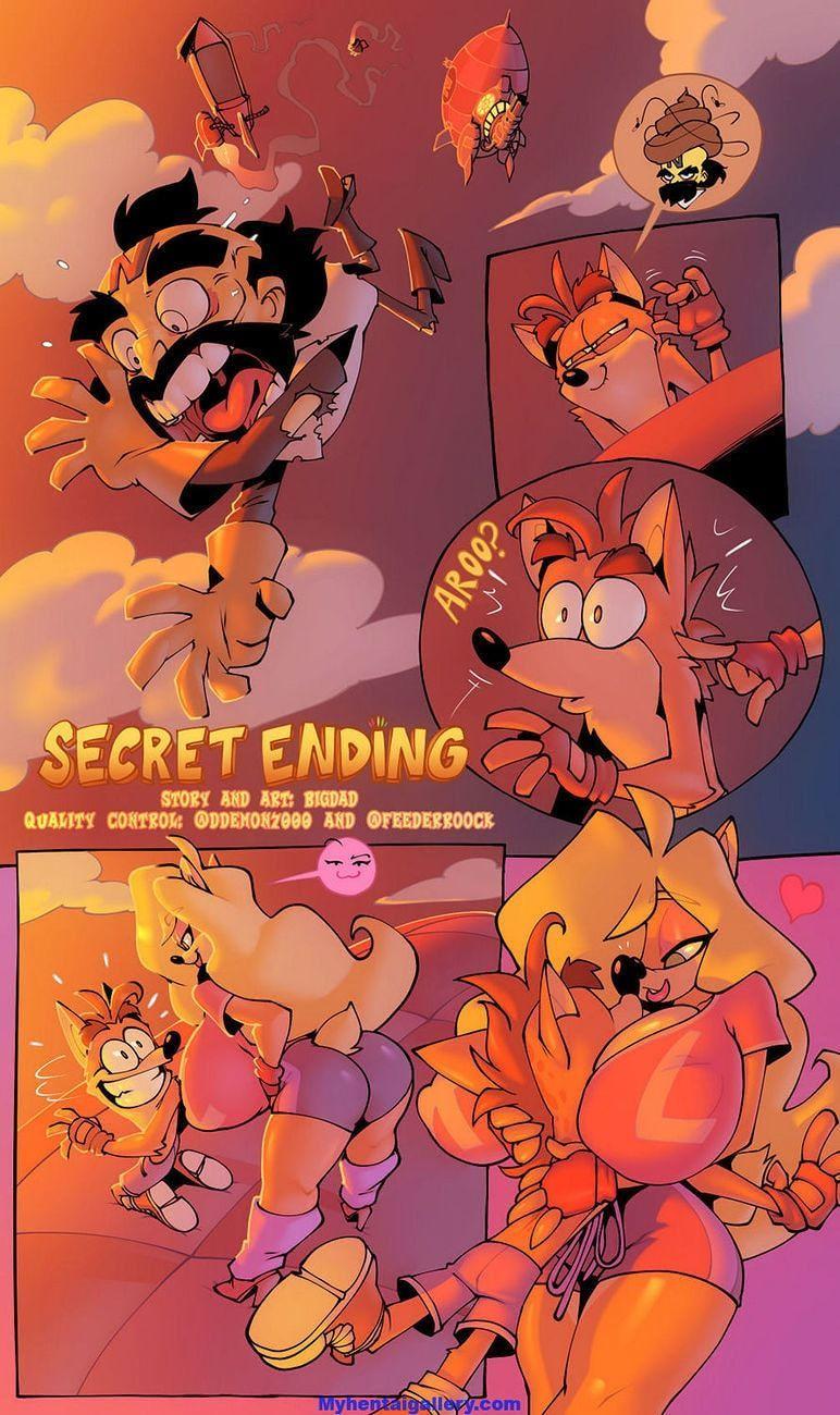 Crash Bandicoot desenhos pornô