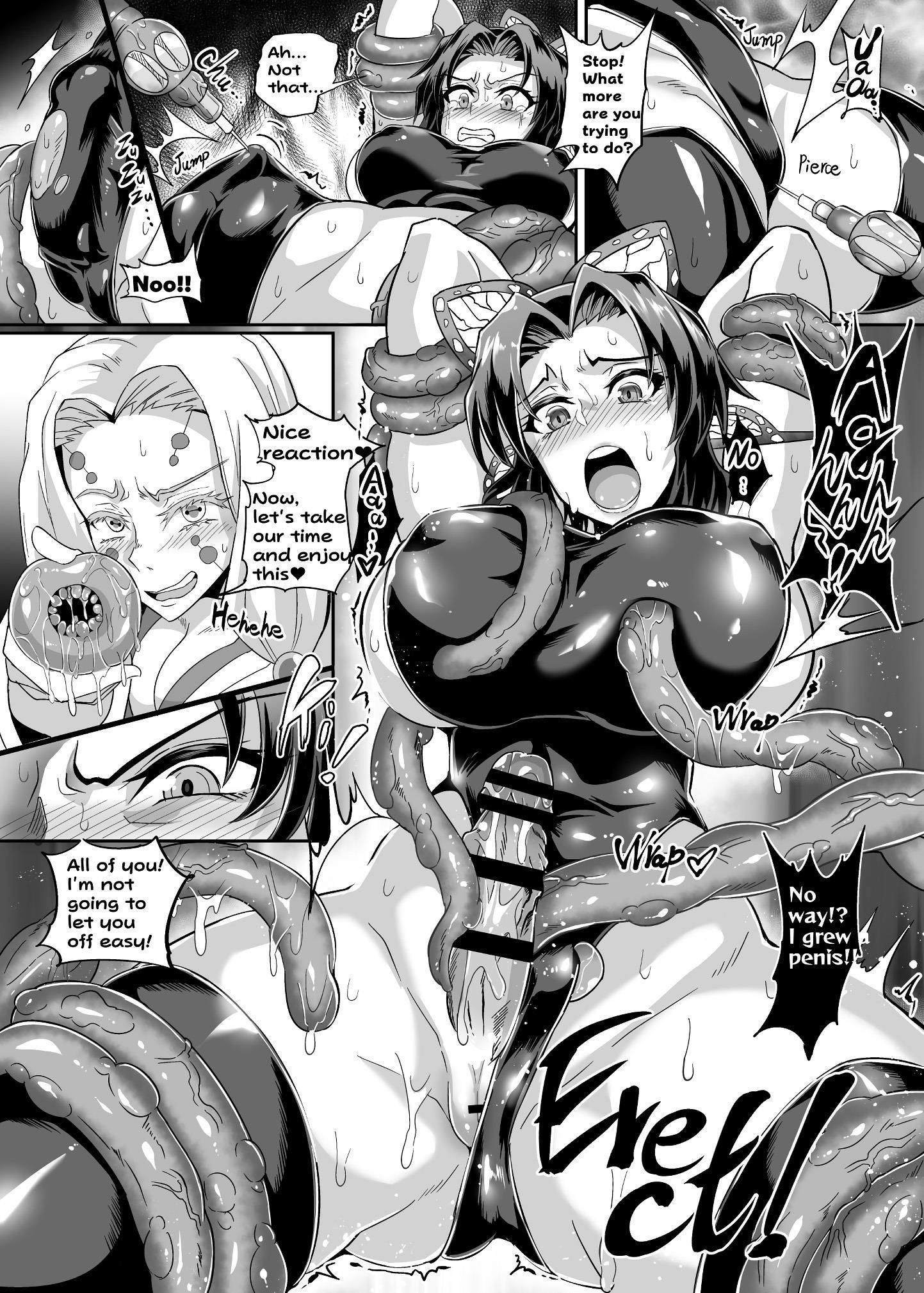 Demon Slayer Hentai: Assassinas indefesas