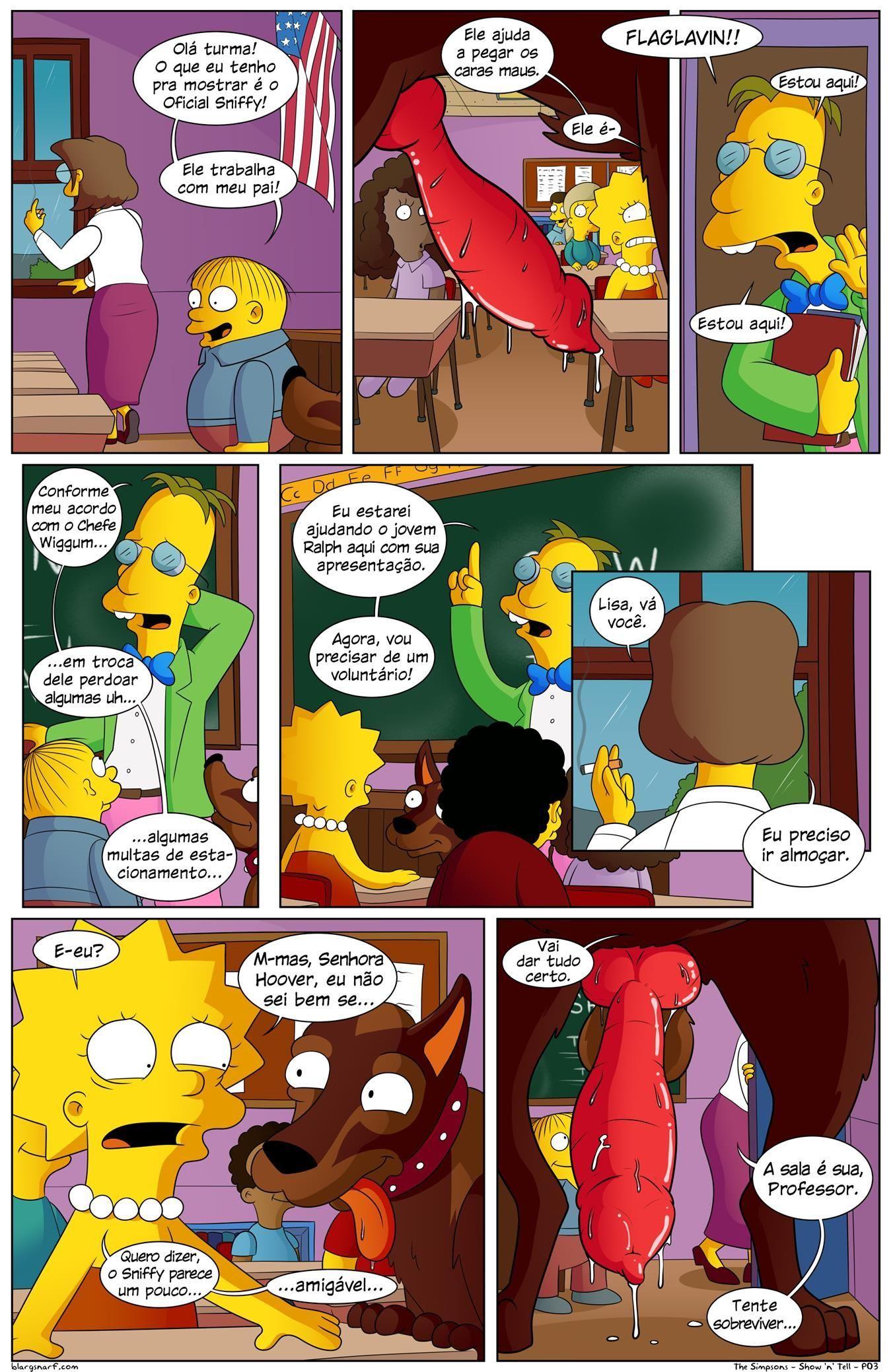 Simpsons Pornô: Dia da apresentação