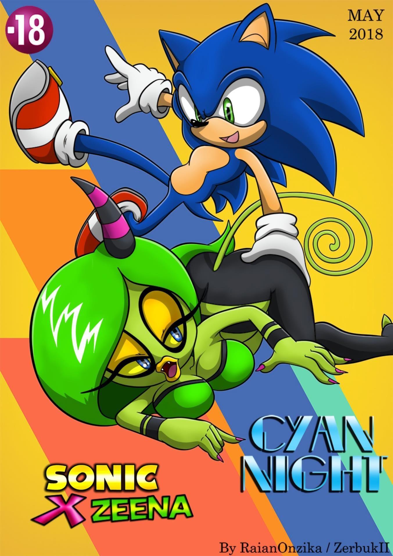 Sonic Cartoon Pornô
