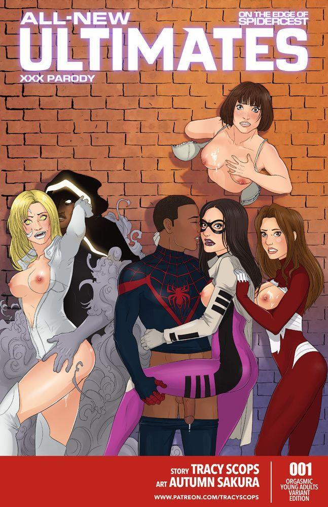 Spider-man XXX – O incesto aranha continua