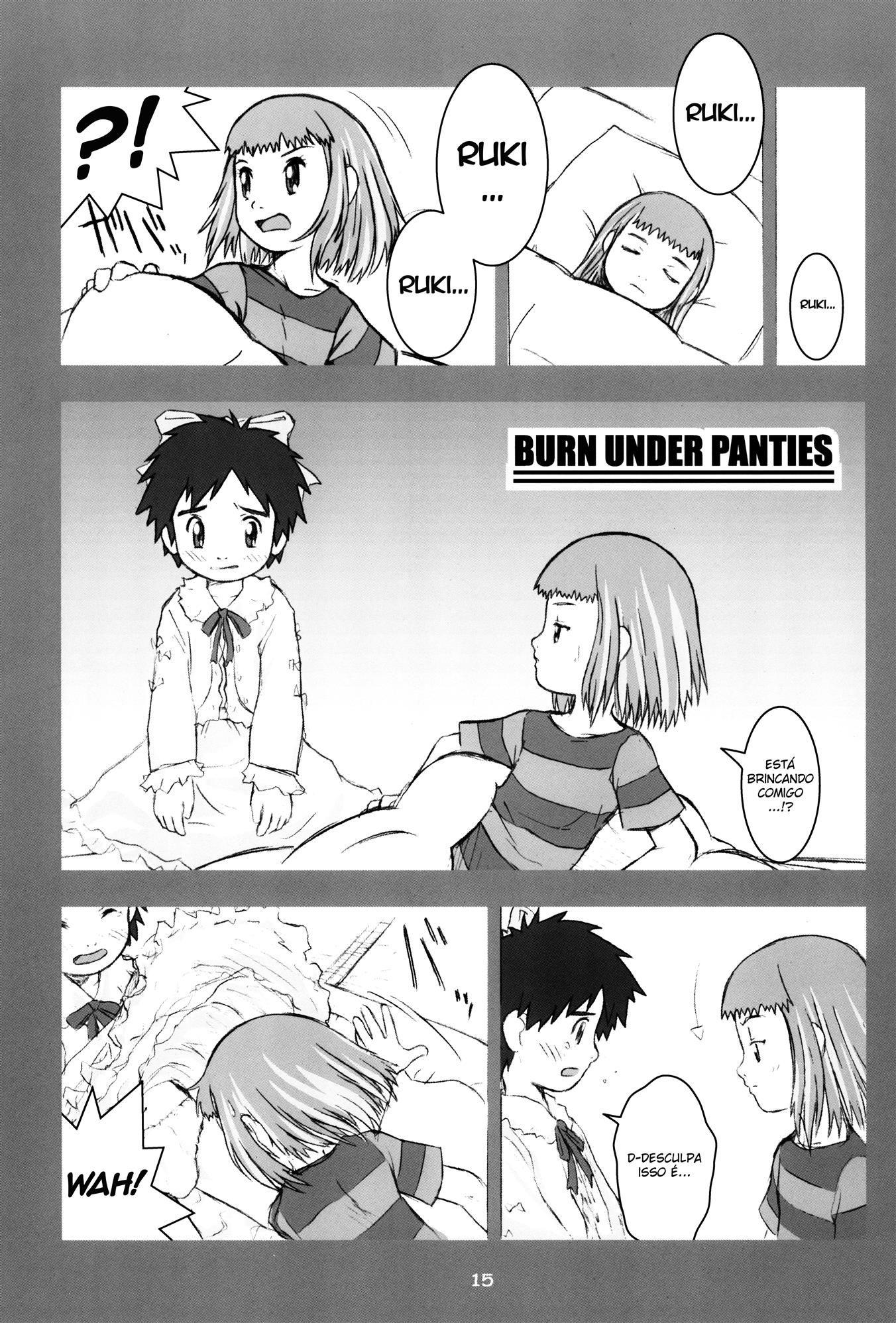 Digimon pornô: Névoa de amor e sexo