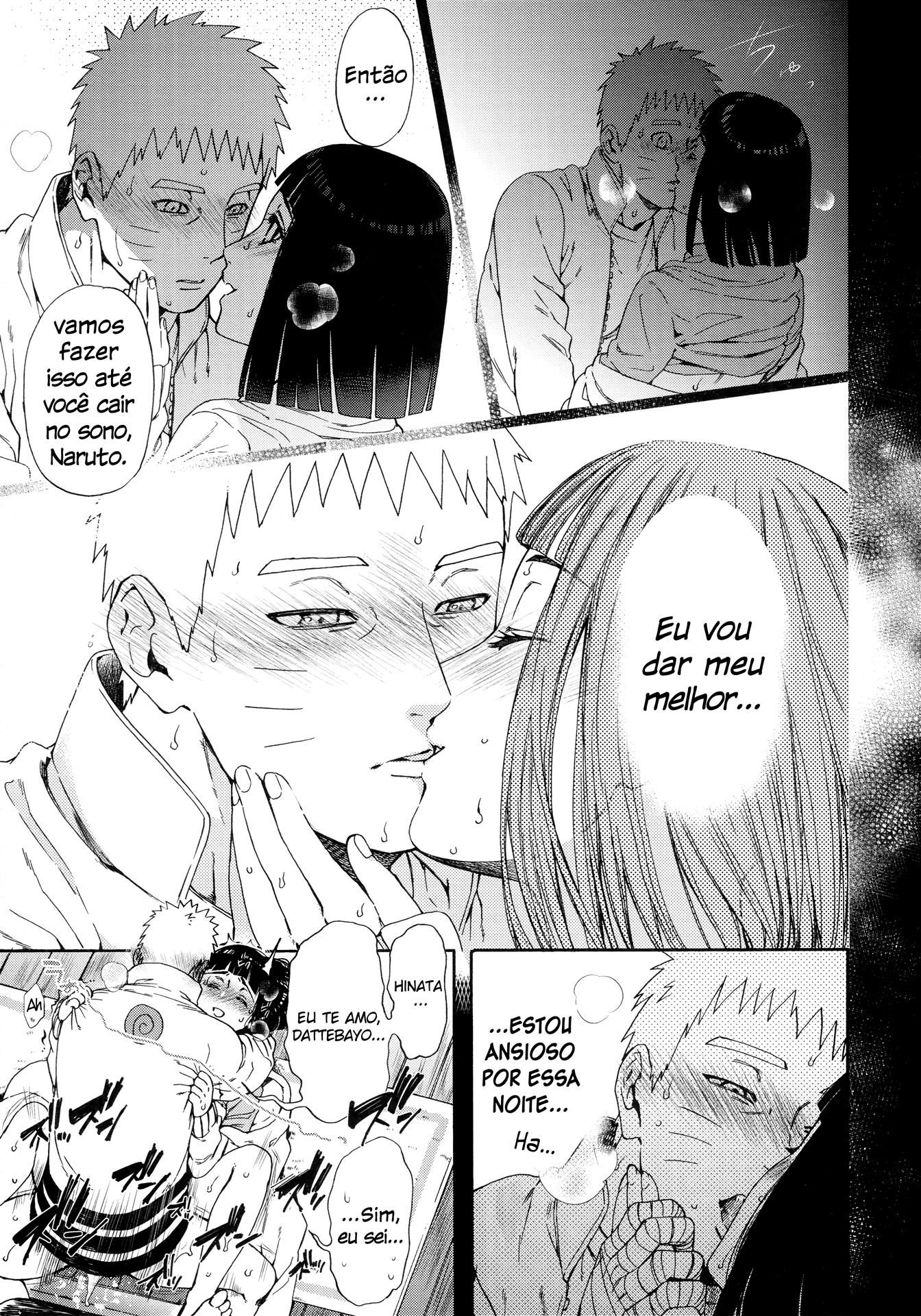Aquela noite de amor com Hinata