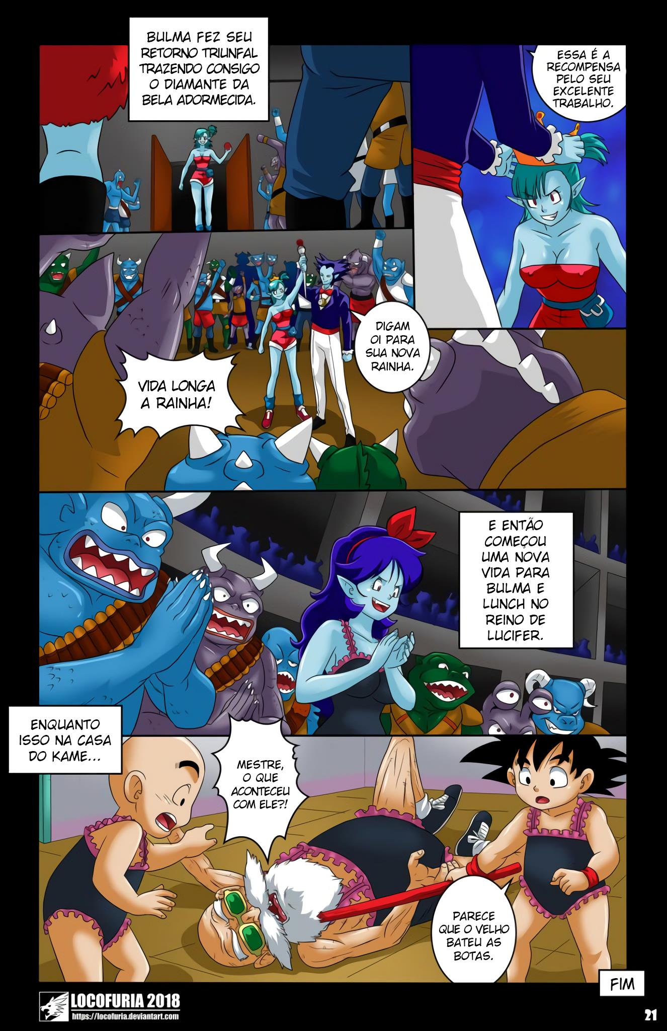 Bulma: A coroação maldita 02