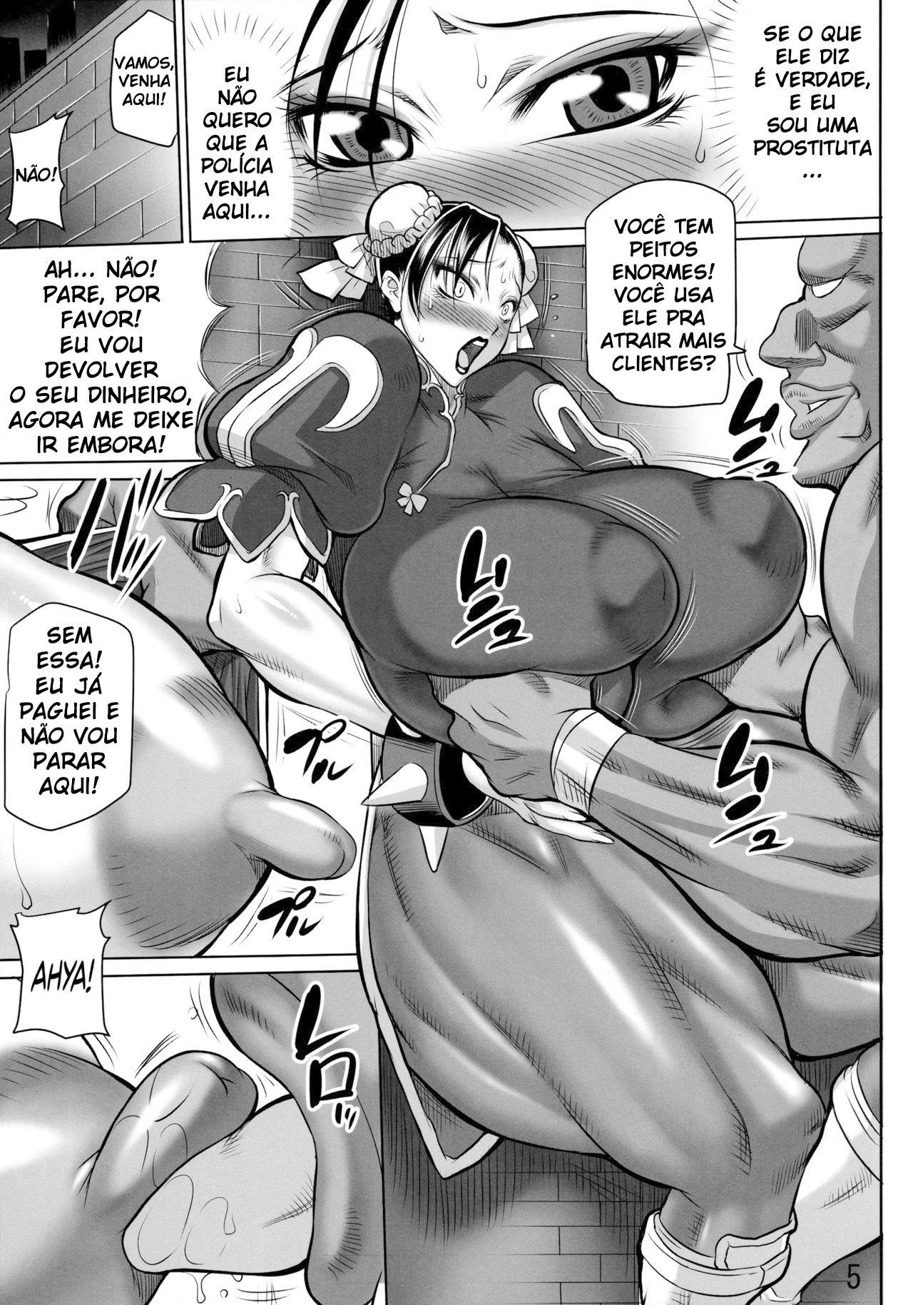 Chun-li à prostituta!