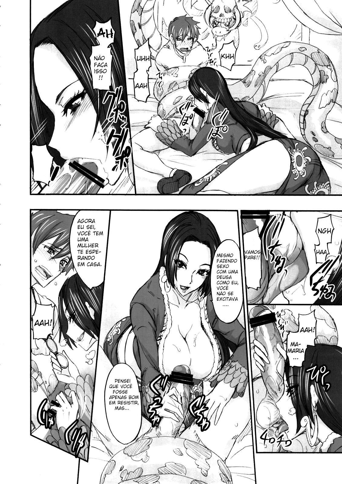 One Piece Hentai: A imperatriz puta