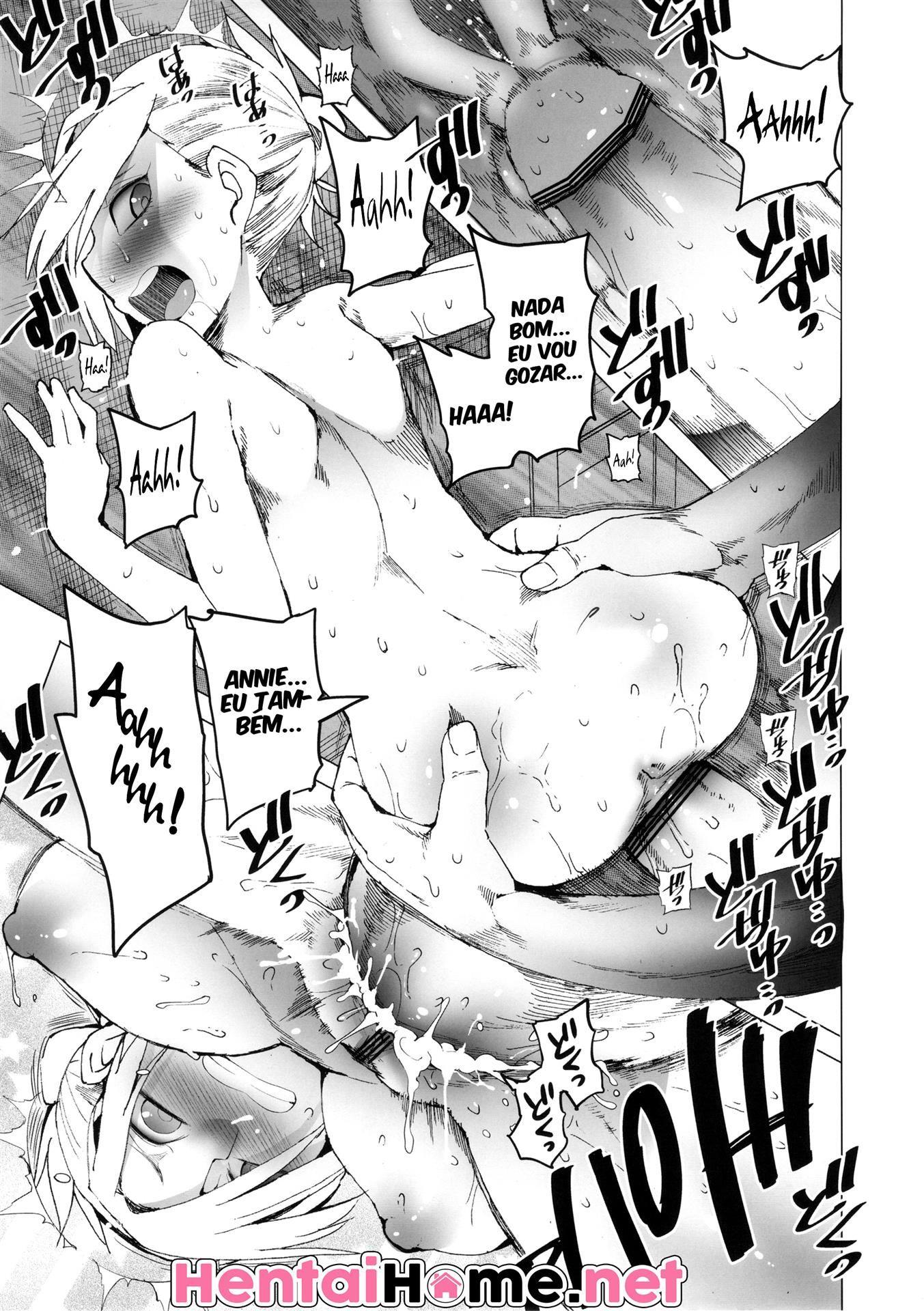 Attack on Titan Pornô: Annie você fede!