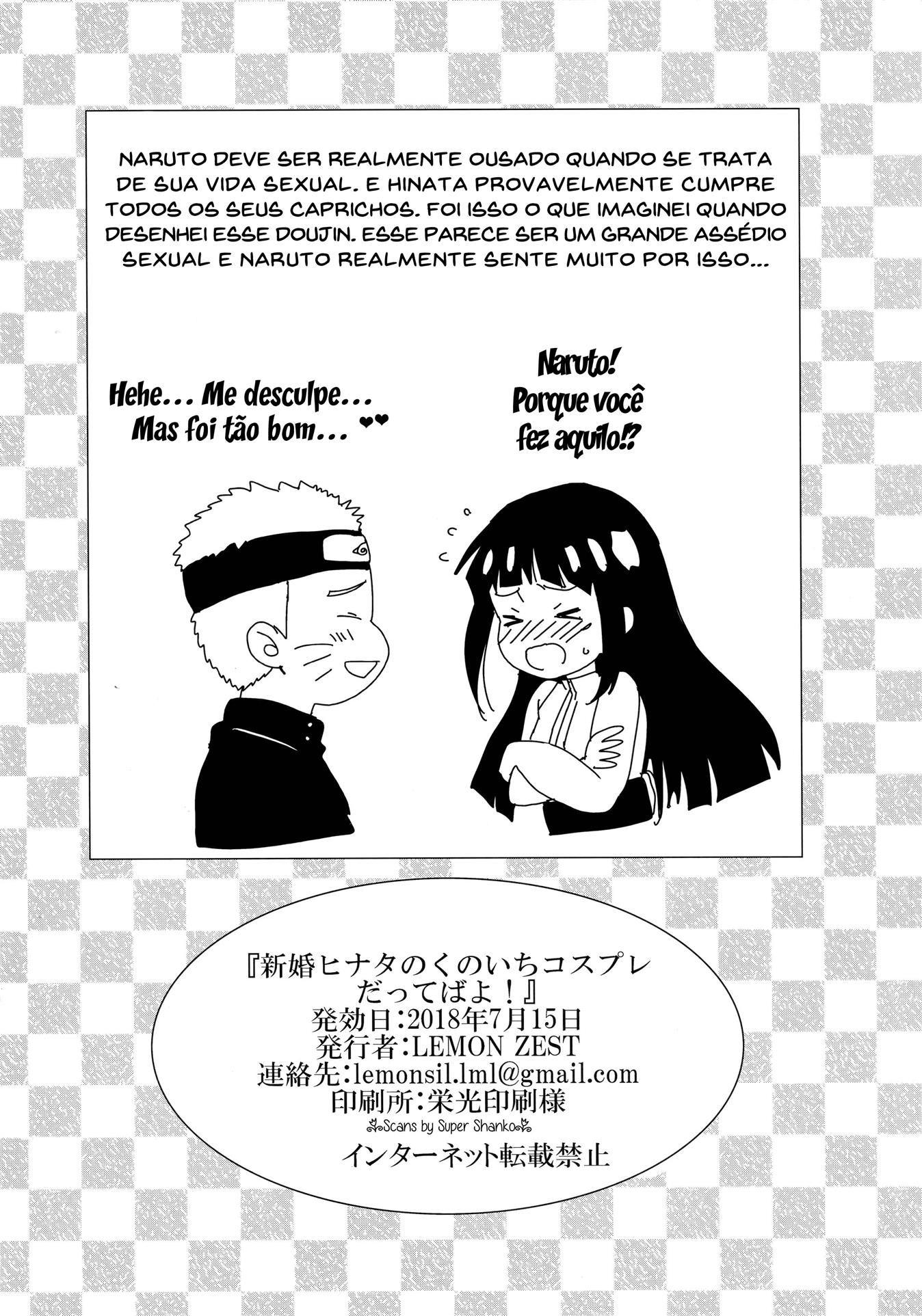 Uniforme provocante para Hinata