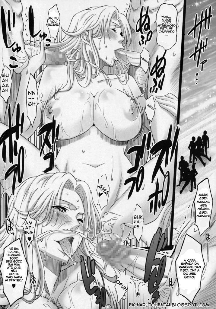 Bleach Pornô: Shinigamis peitudas no paraíso