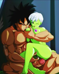 Broly x Cheelai – O casal de Dragon Ball Super
