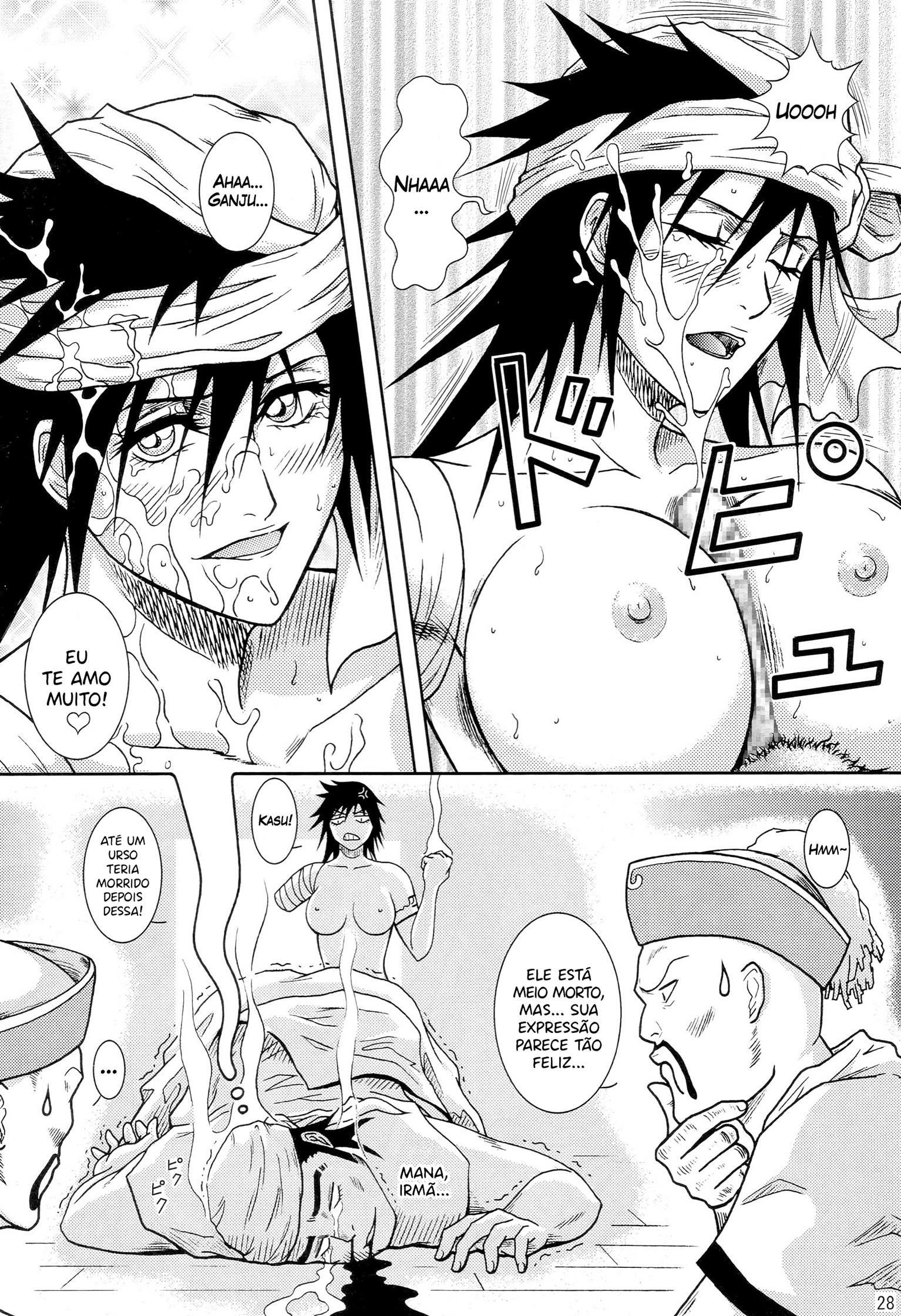 O banho das Shinigamis