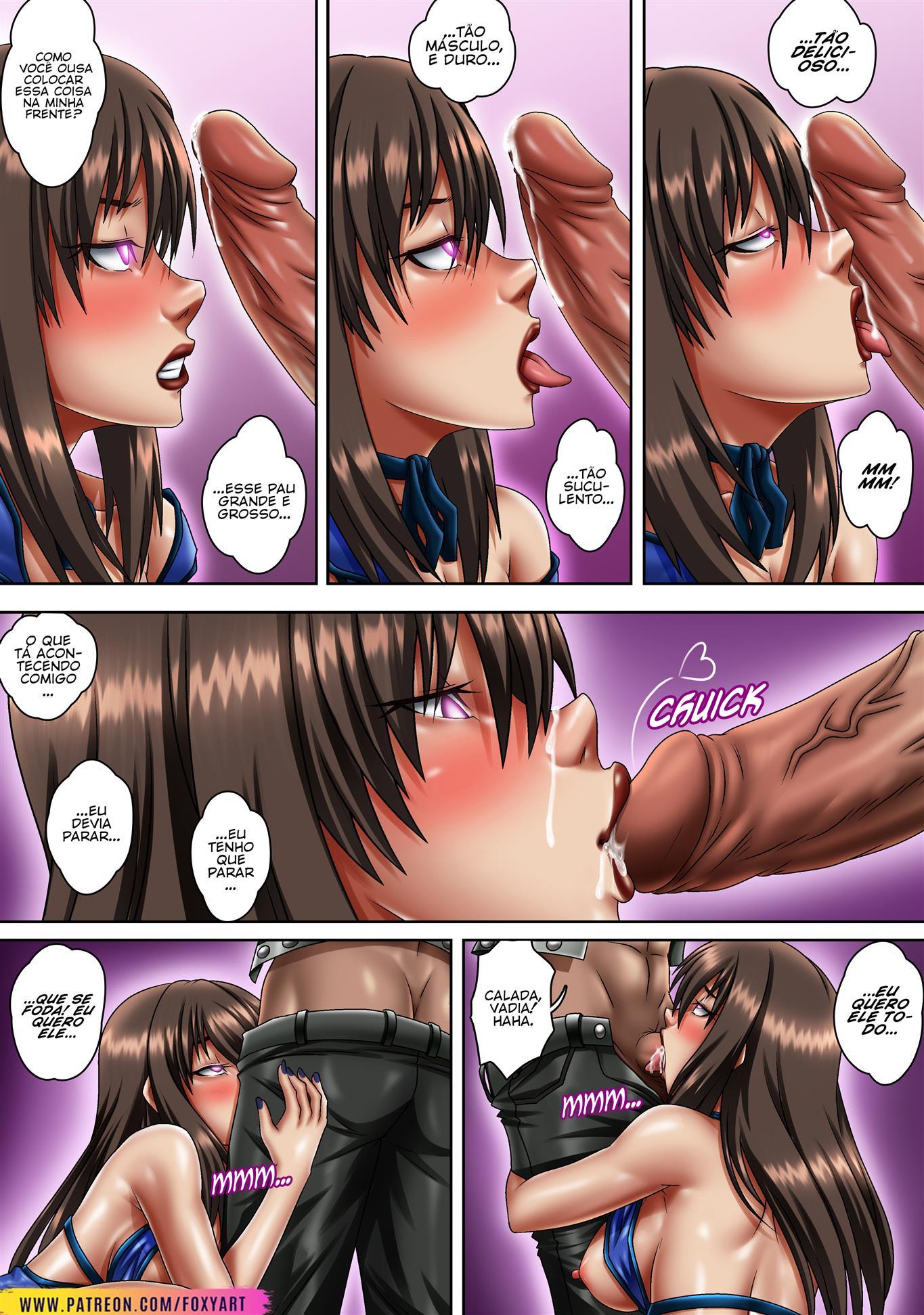 Final Fantasy: Droga sexual de Tifa
