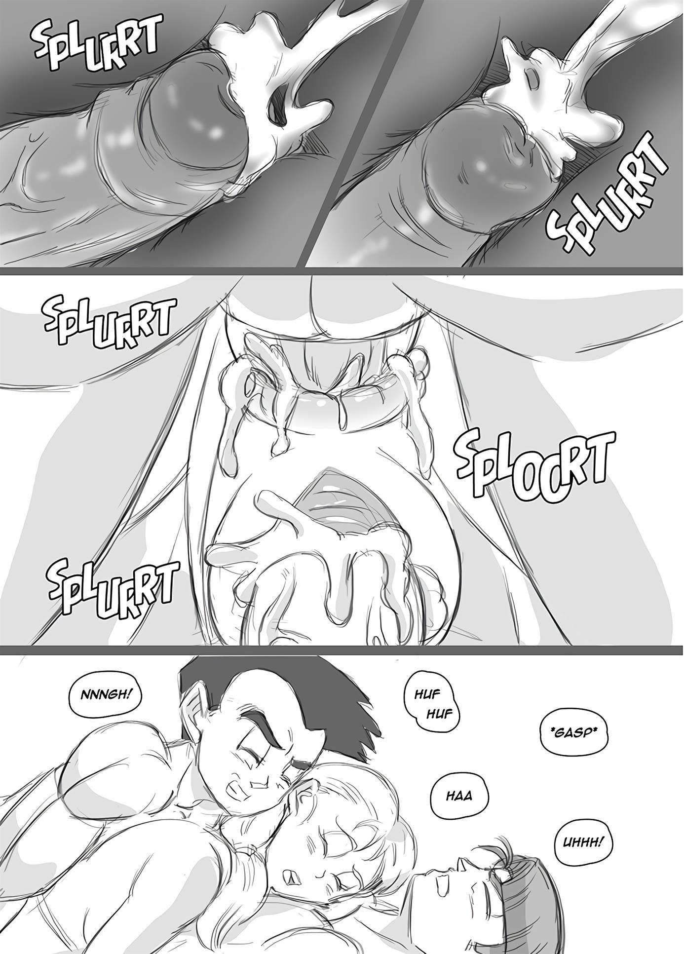 Gupal com filha de Kuririn