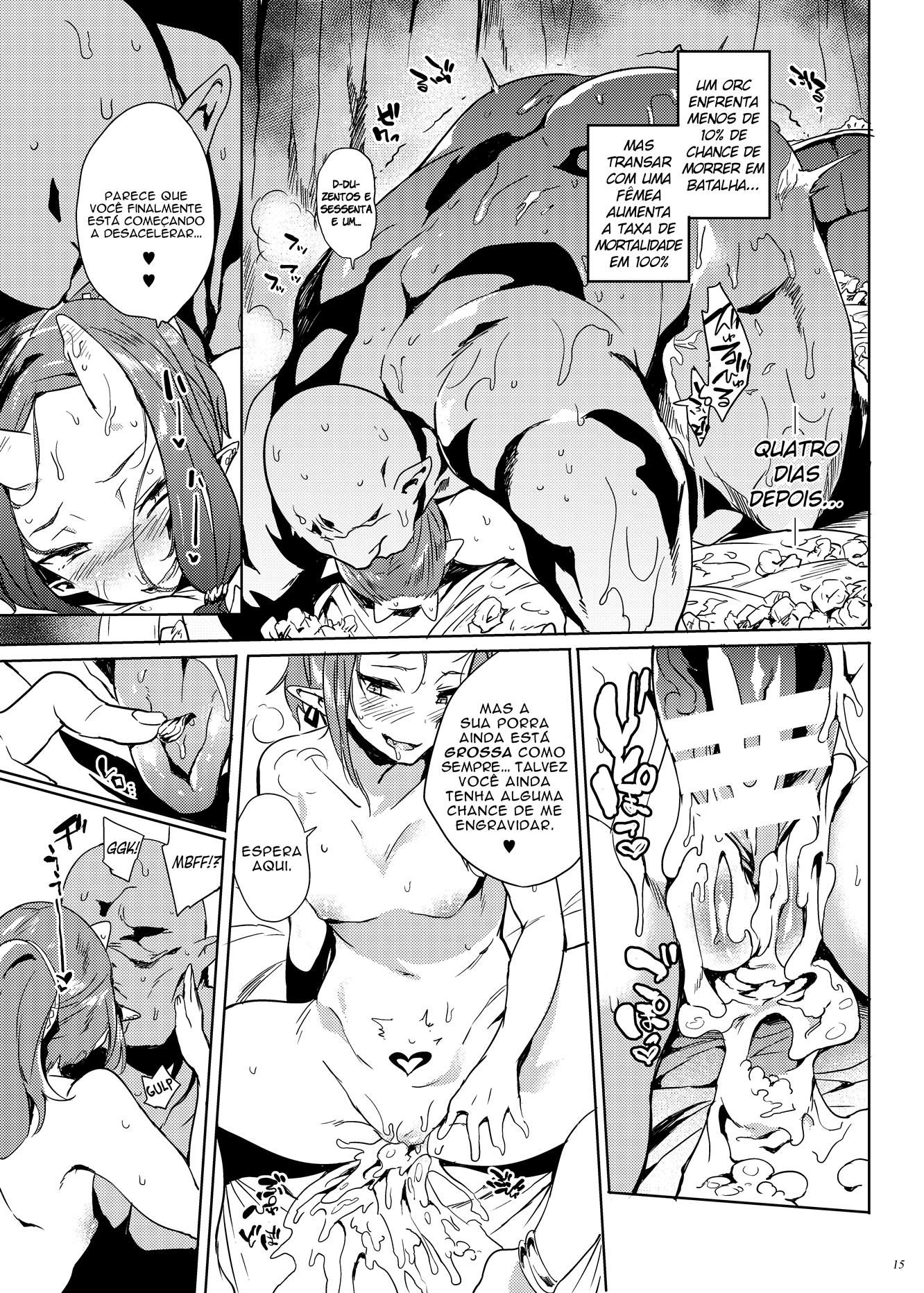 Os ovólus da princesa orc são extremamente fortes