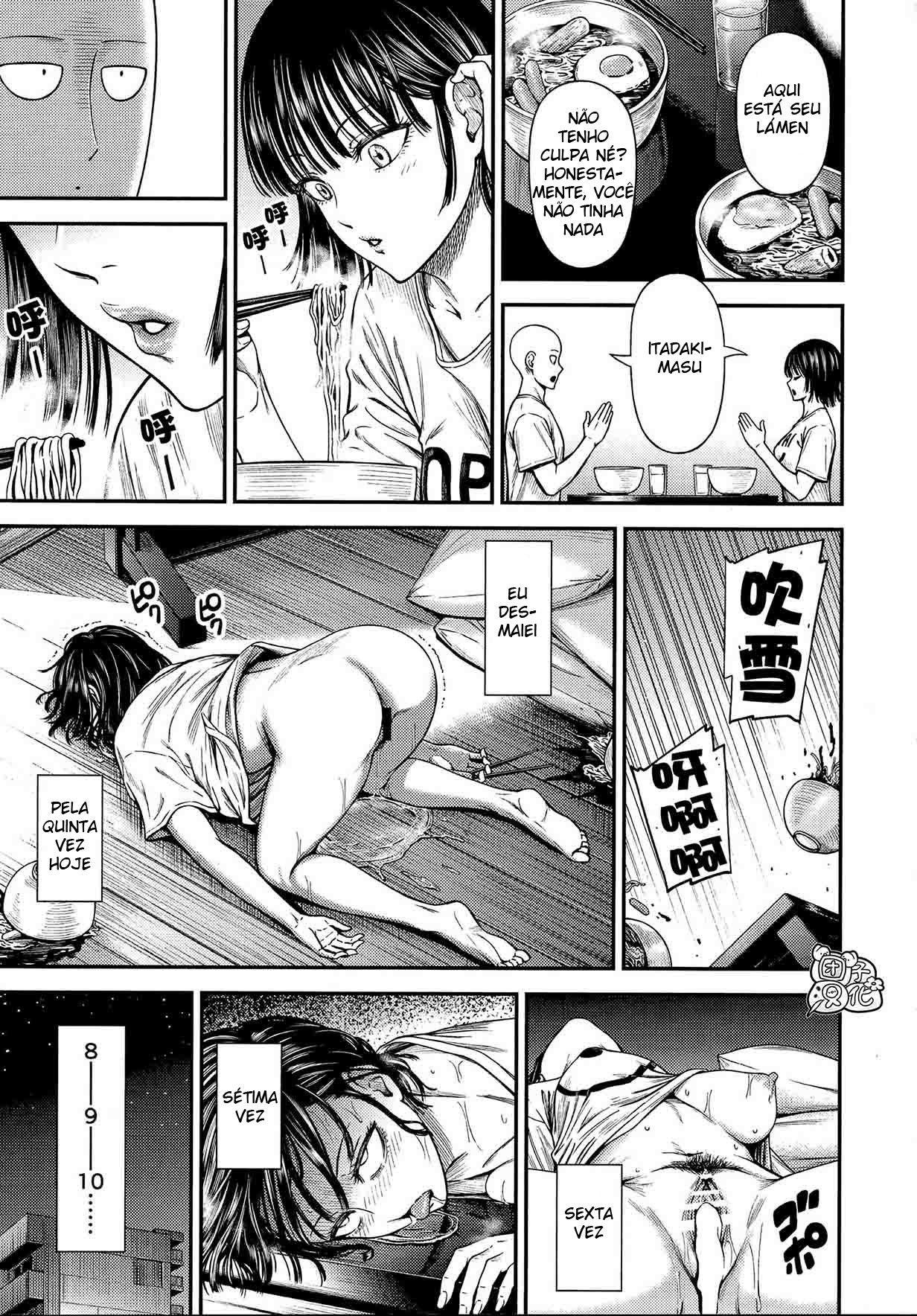 Saitama assumindo à responsabilidade sexual