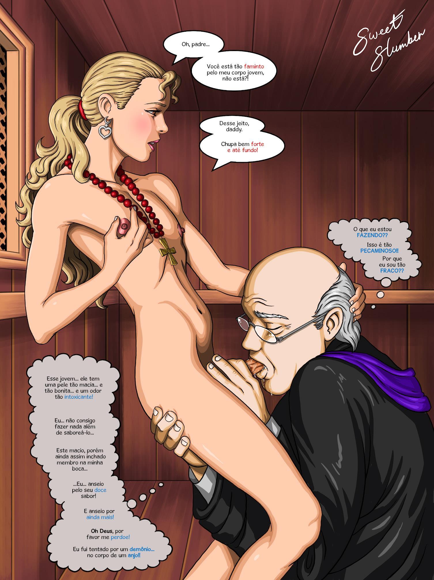 O padre sedento de pecado