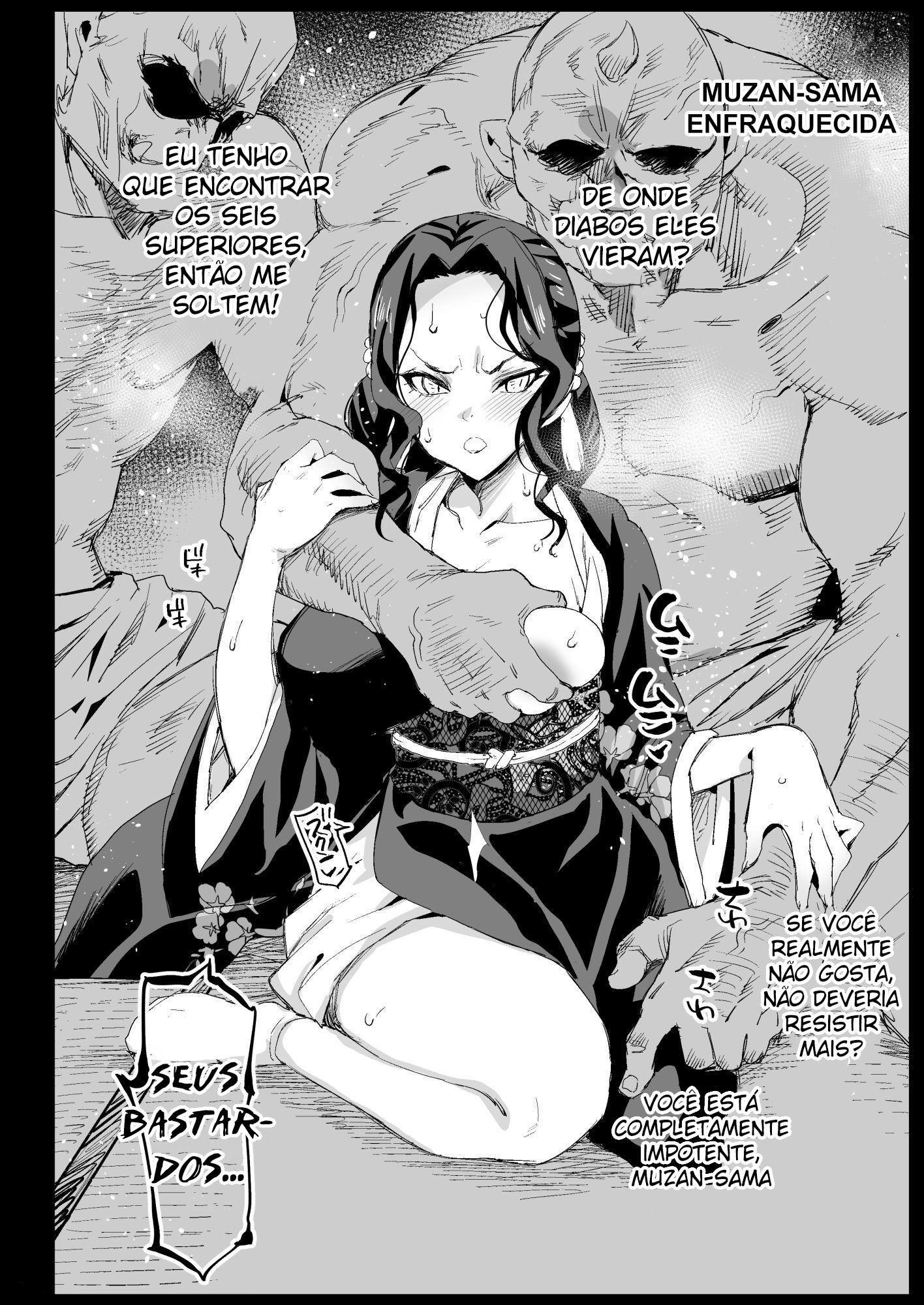 Estupro da caçadora de demônios 03