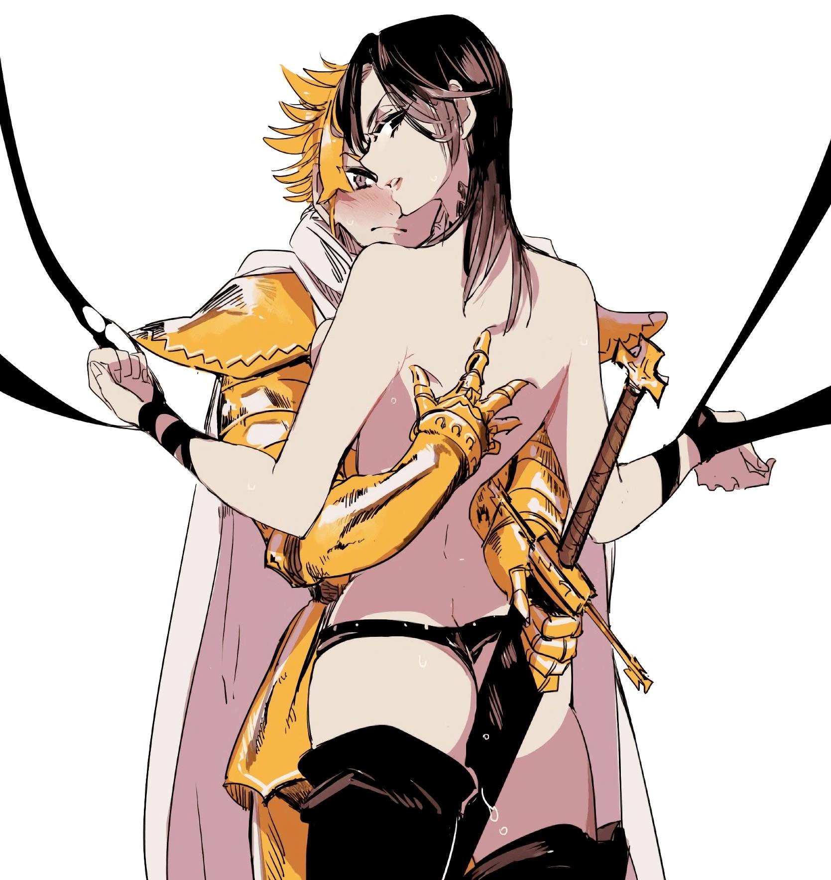 Nanatsu no Taizai Pornô Merlin